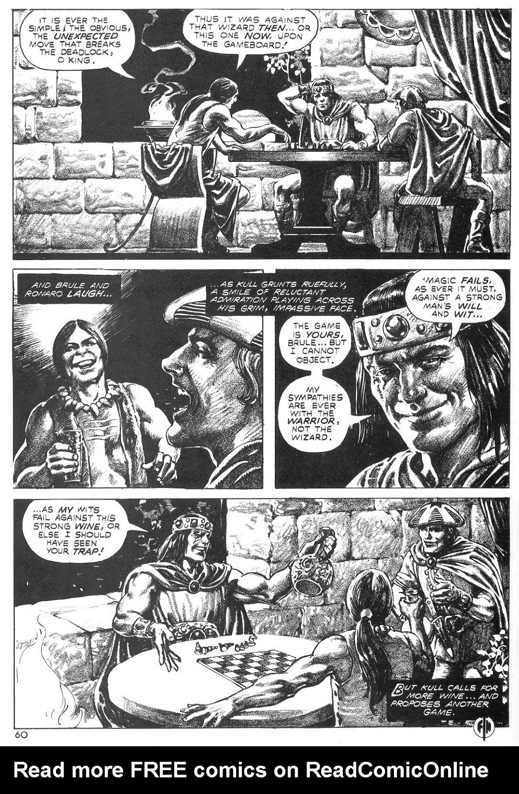 The Savage Sword Of Conan Issue #55 #56 - English 59