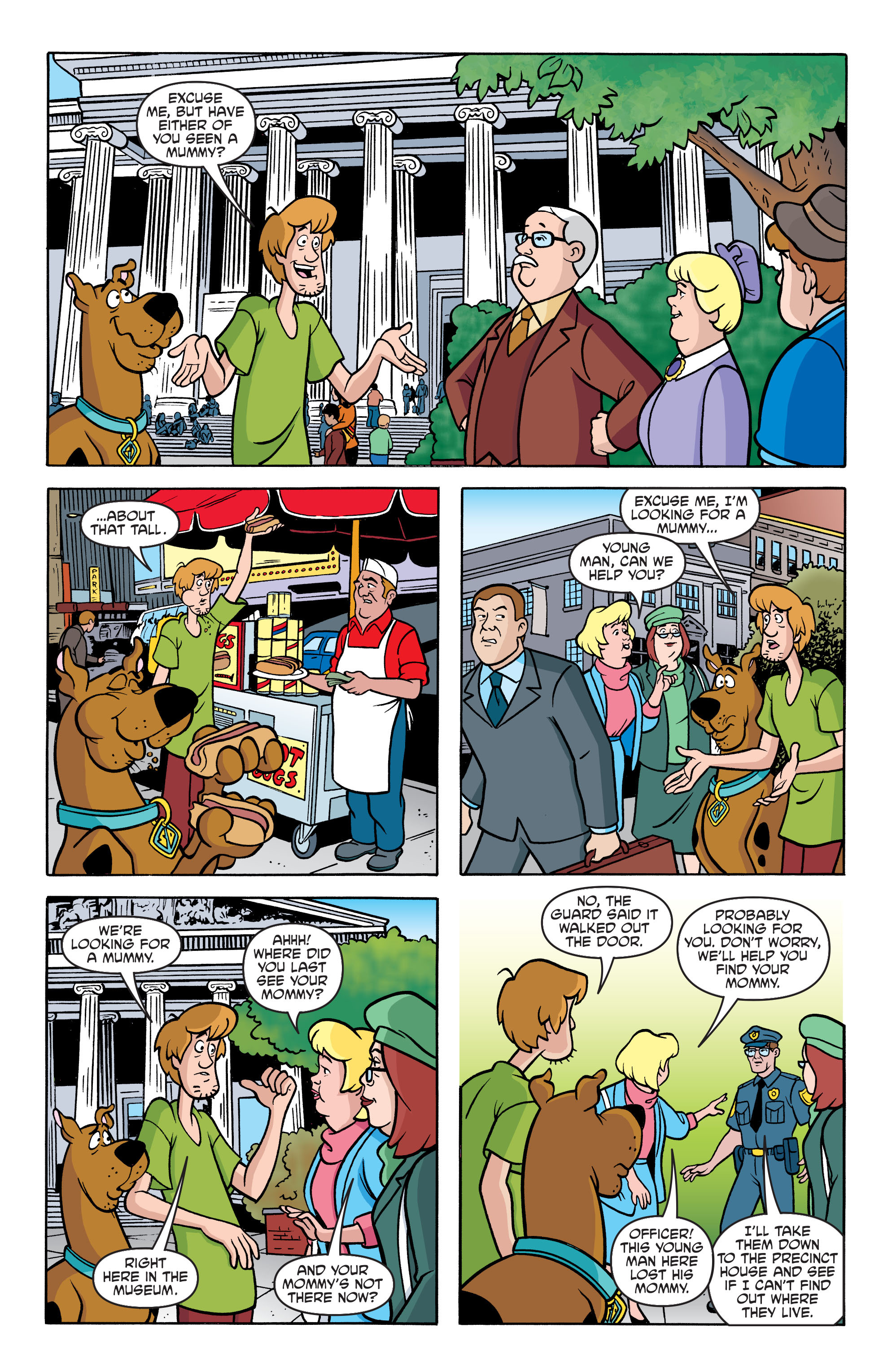 Read online Scooby-Doo: Where Are You? comic -  Issue #62 - 16