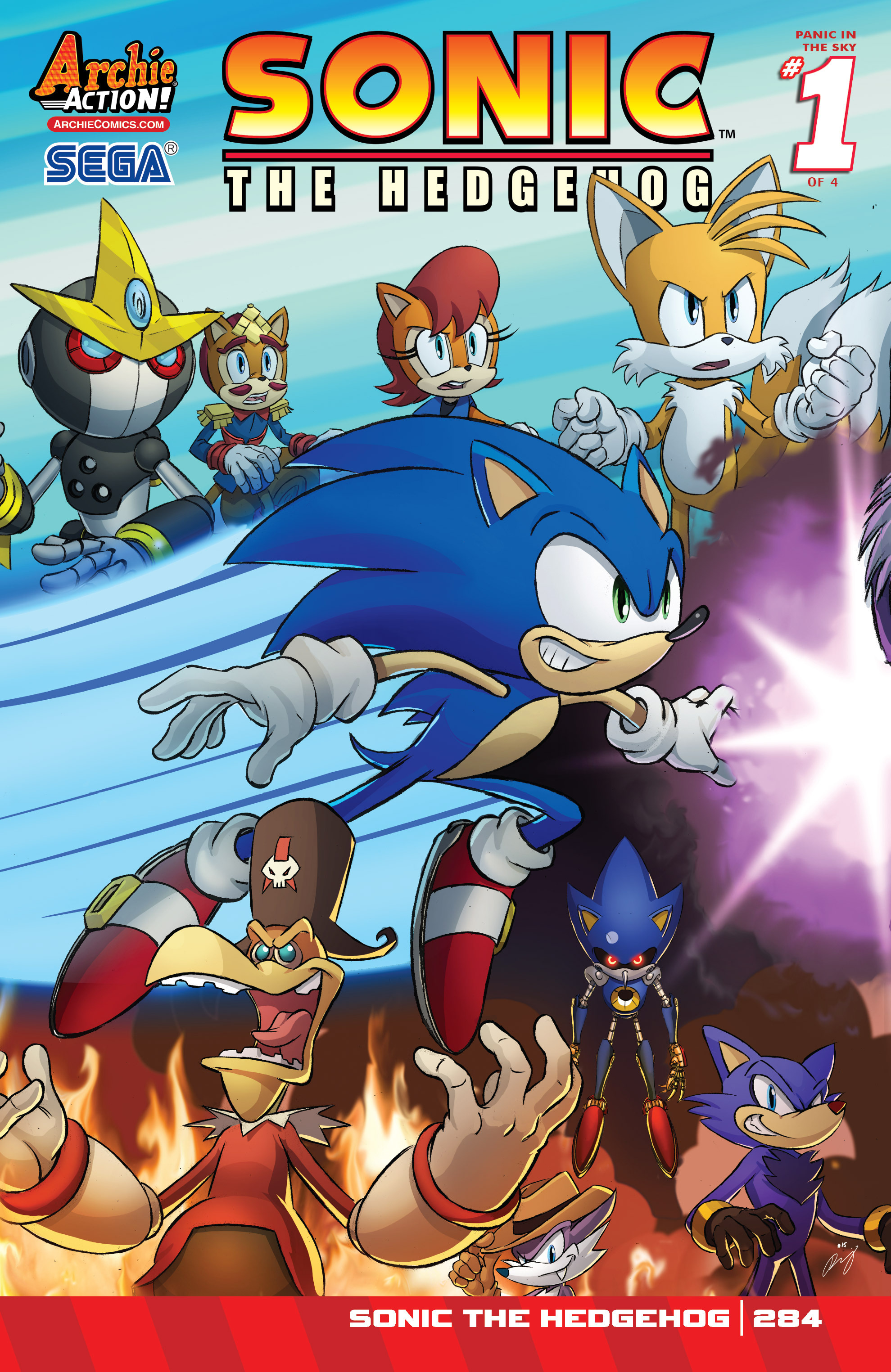 sonic the hedgehog 284 read sonic the hedgehog issue 284 online