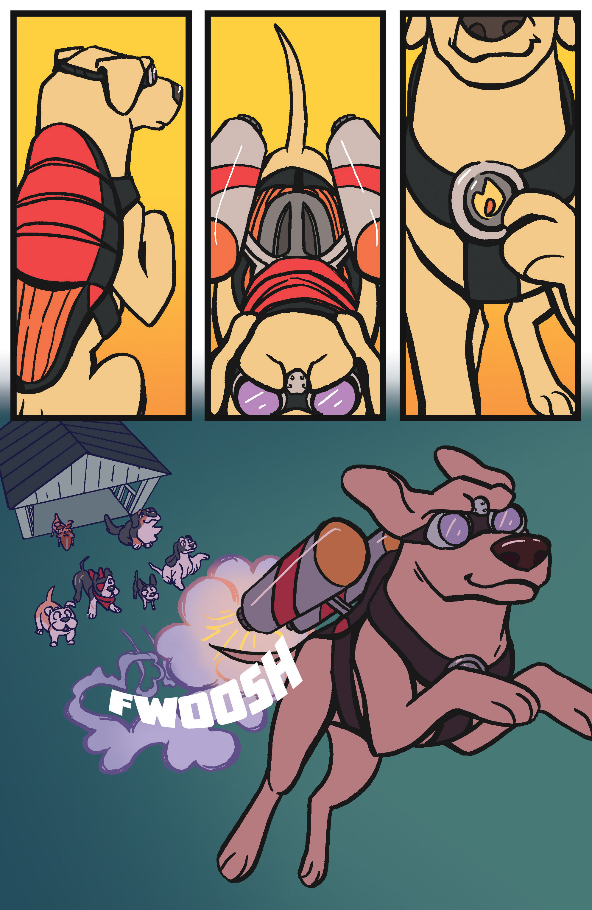 Read online Action Lab, Dog of Wonder comic -  Issue #4 - 14