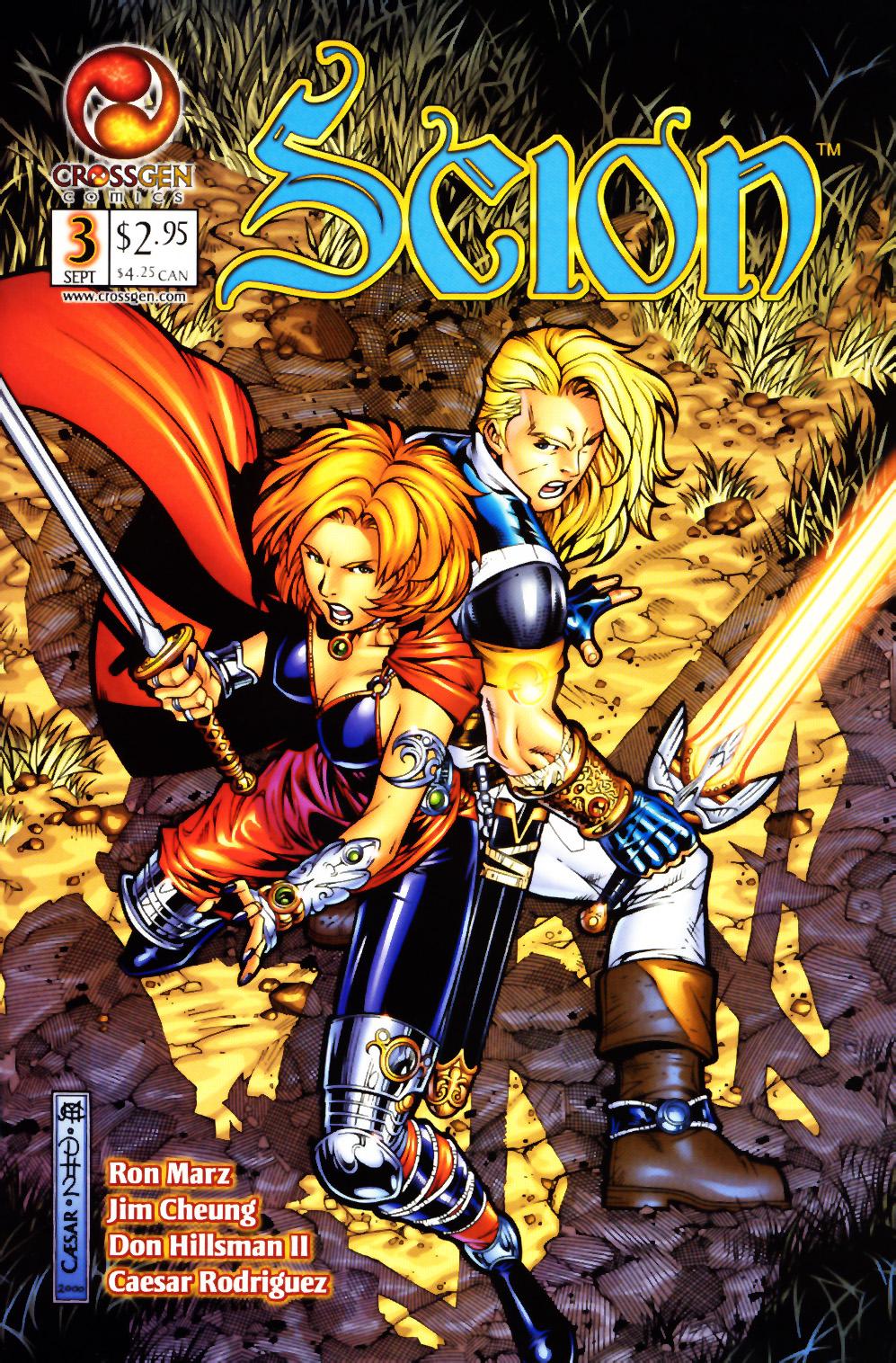 Read online Scion comic -  Issue #3 - 1