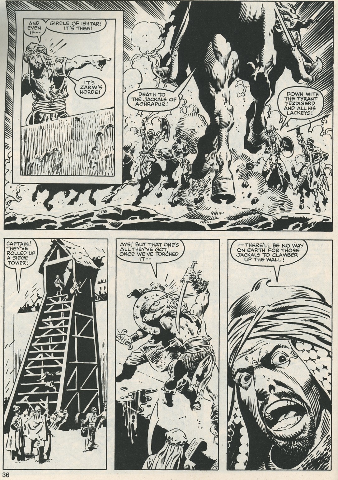 The Savage Sword Of Conan Issue #112 #113 - English 37