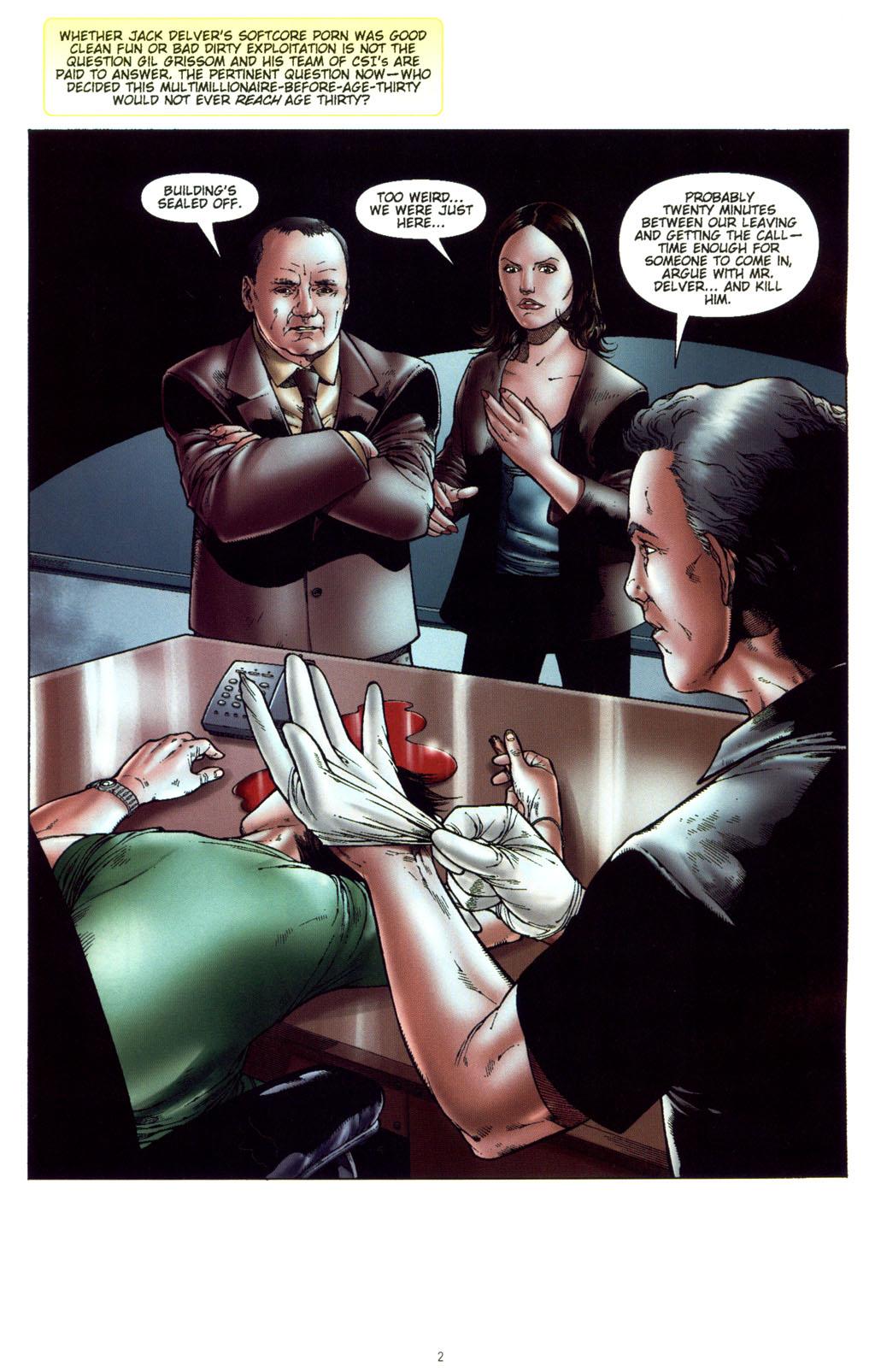 Read online CSI: Crime Scene Investigation: Bad Rap comic -  Issue #5 - 5