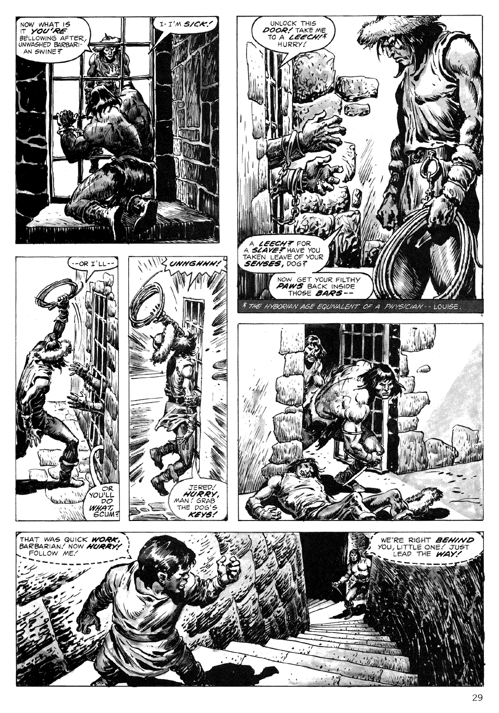 The Savage Sword Of Conan Issue #71 #72 - English 29