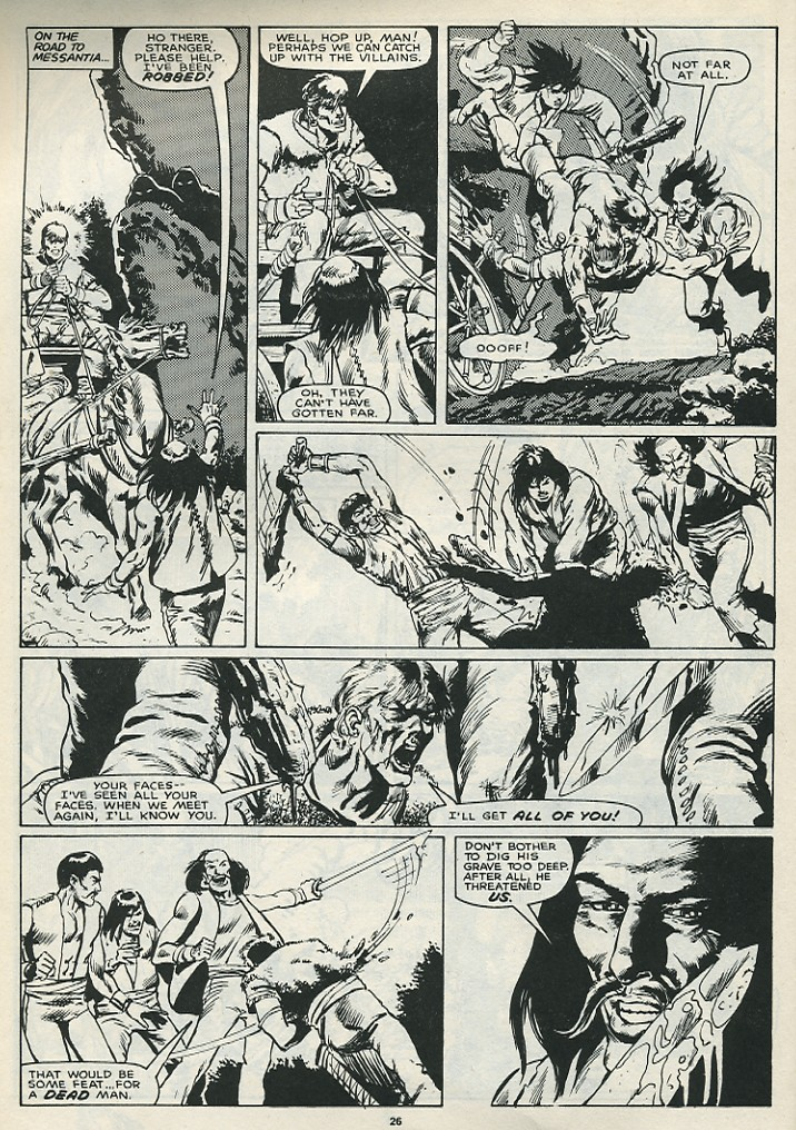 The Savage Sword Of Conan Issue #172 #173 - English 28
