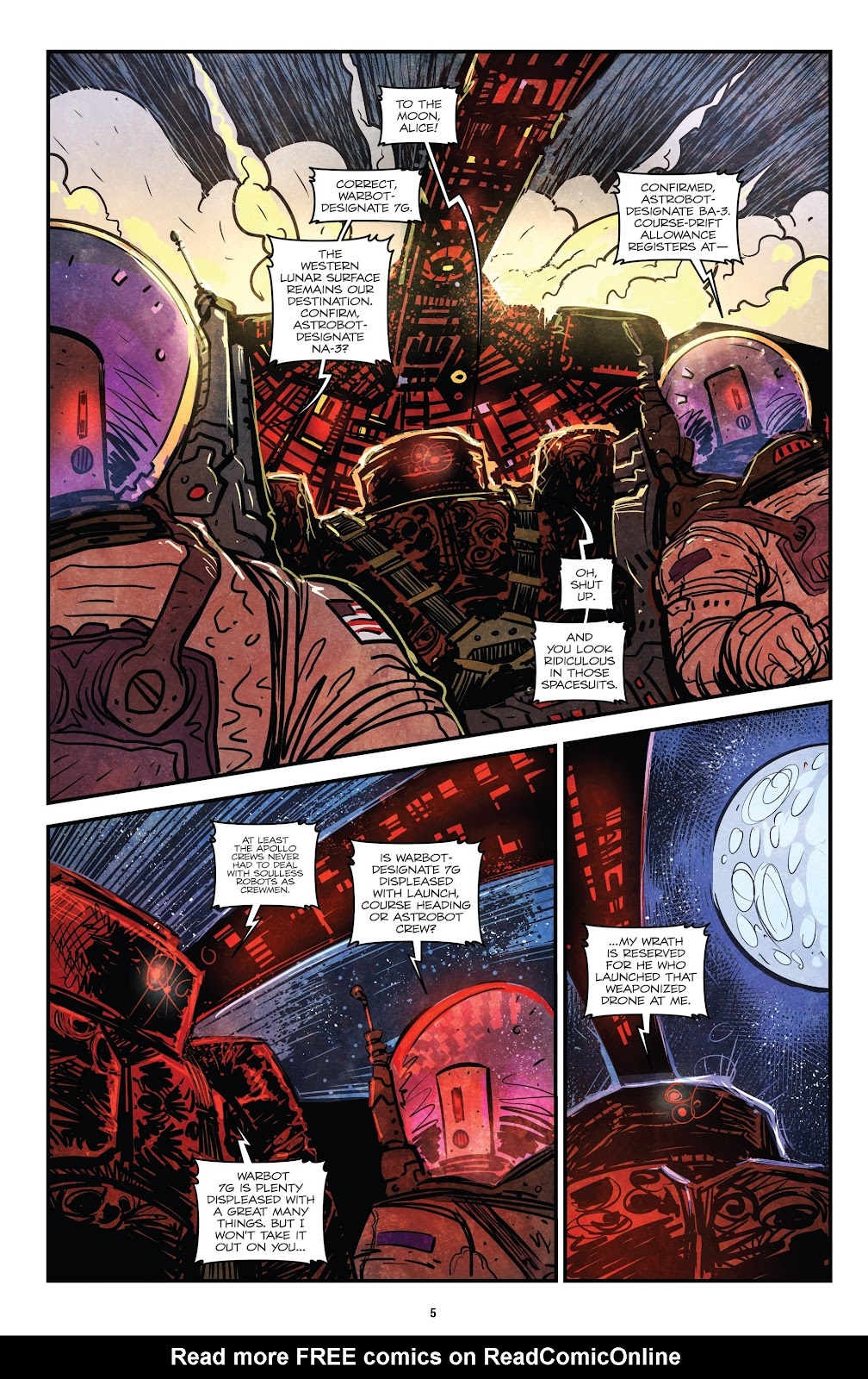 Zombies vs Robots (2015) Issue #4 Page 7