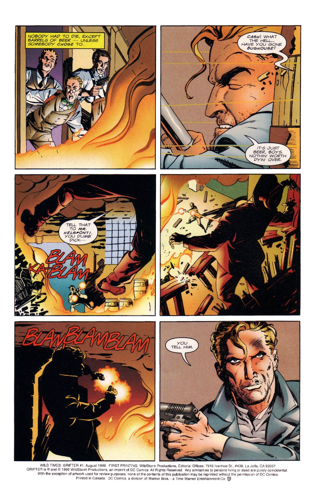Read online Wild Times: Grifter comic -  Issue # Full - 5