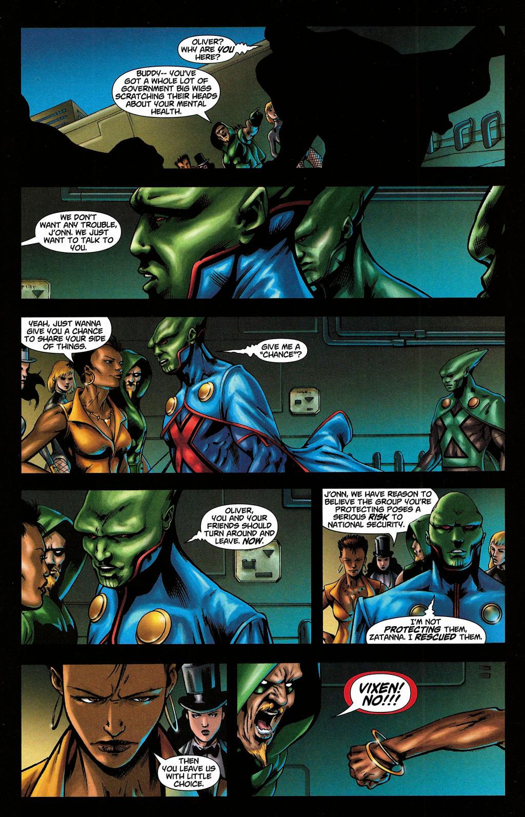 Read online Martian Manhunter (2006) comic -  Issue #5 - 29