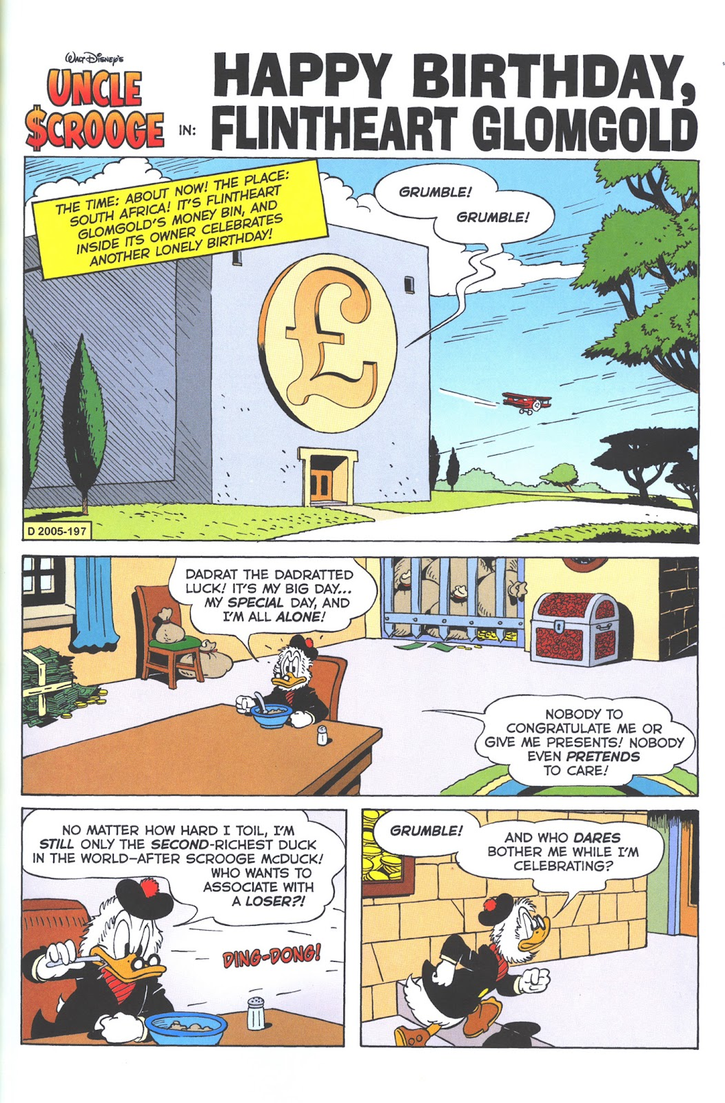Uncle Scrooge (1953) Issue #376 #376 - English 39