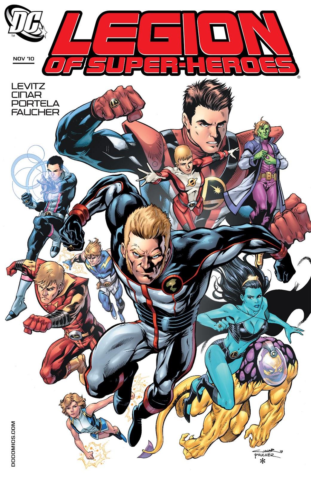 Legion of Super-Heroes (2010) Issue #5 #6 - English 1