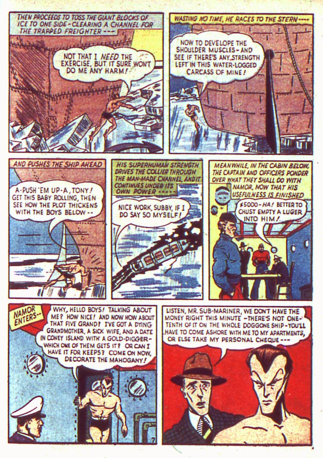 Sub-Mariner Comics Issue #2 #2 - English 9