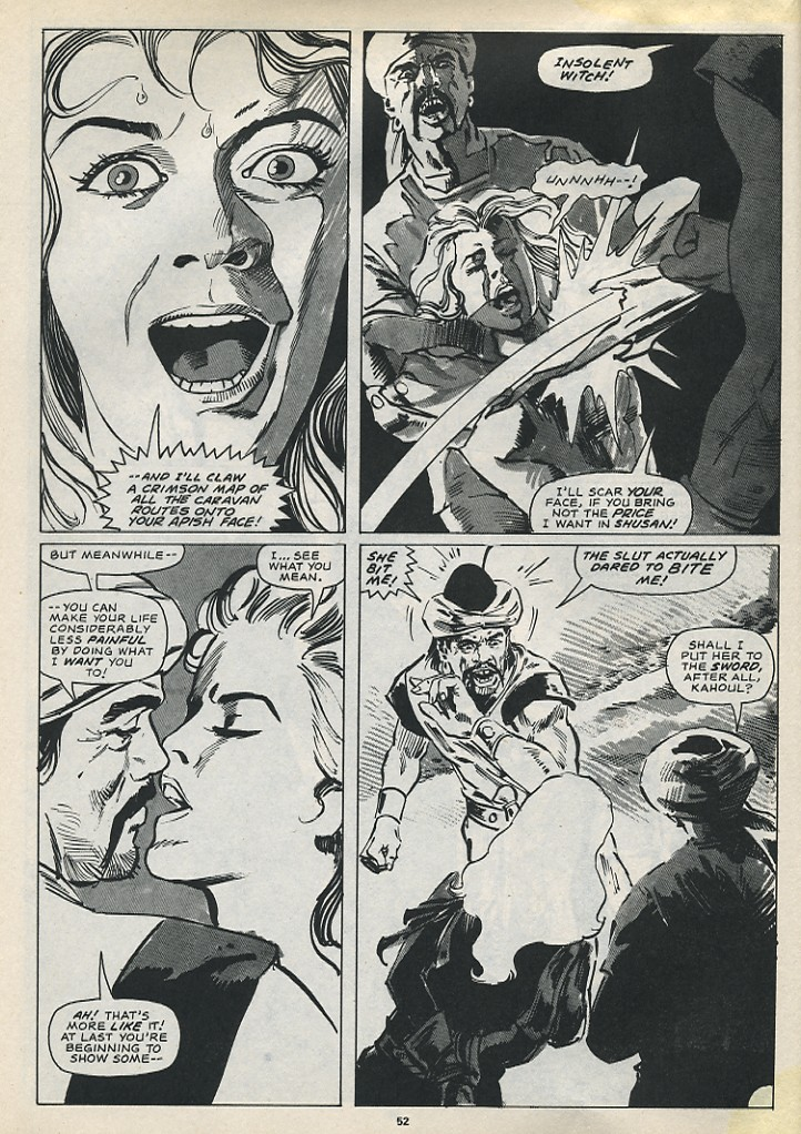 The Savage Sword Of Conan Issue #194 #195 - English 54