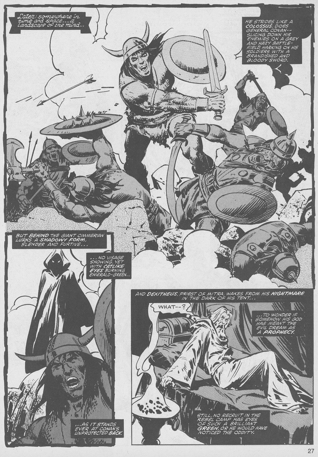 The Savage Sword Of Conan Issue #49 #50 - English 27