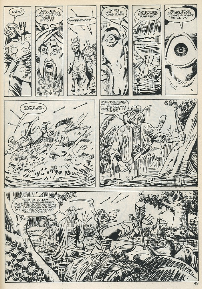 The Savage Sword Of Conan Issue #131 #132 - English 49