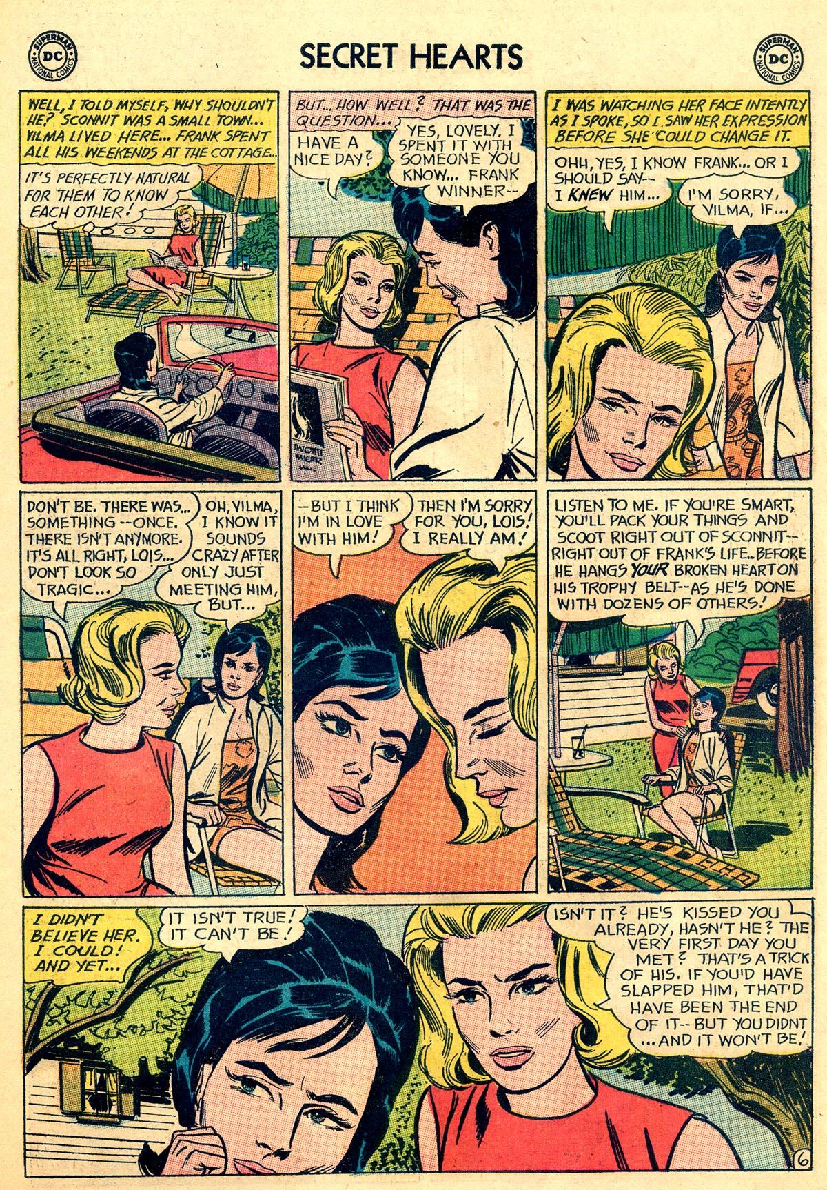 Read online Secret Hearts comic -  Issue #92 - 23