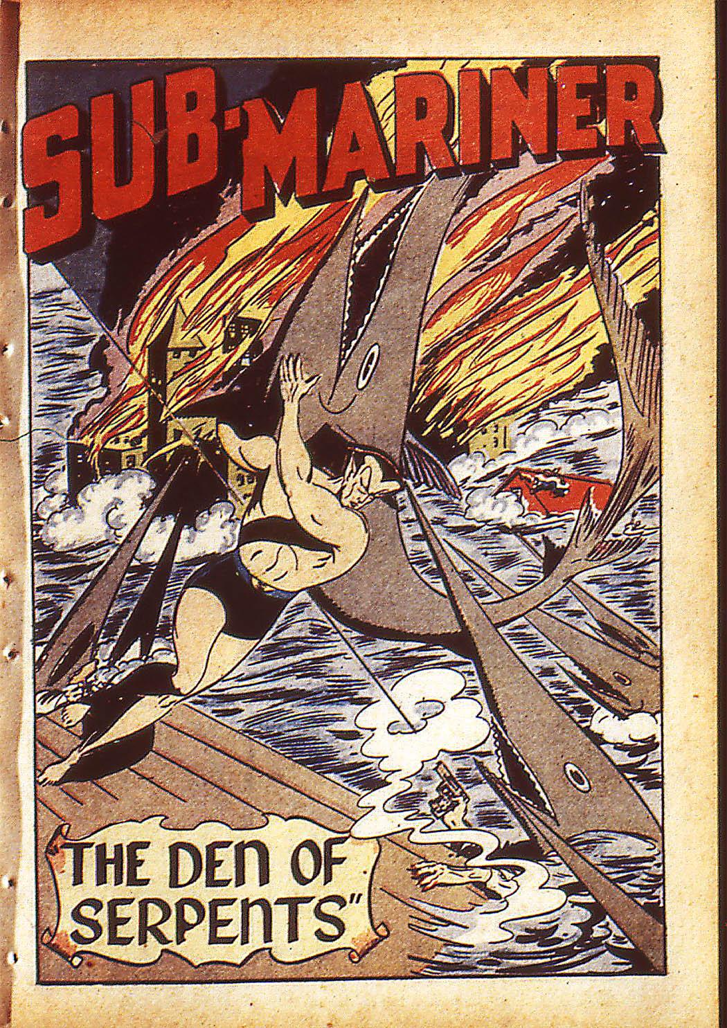 Sub-Mariner Comics Issue #10 #10 - English 4