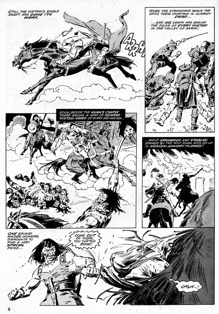 The Savage Sword Of Conan Issue #38 #39 - English 8