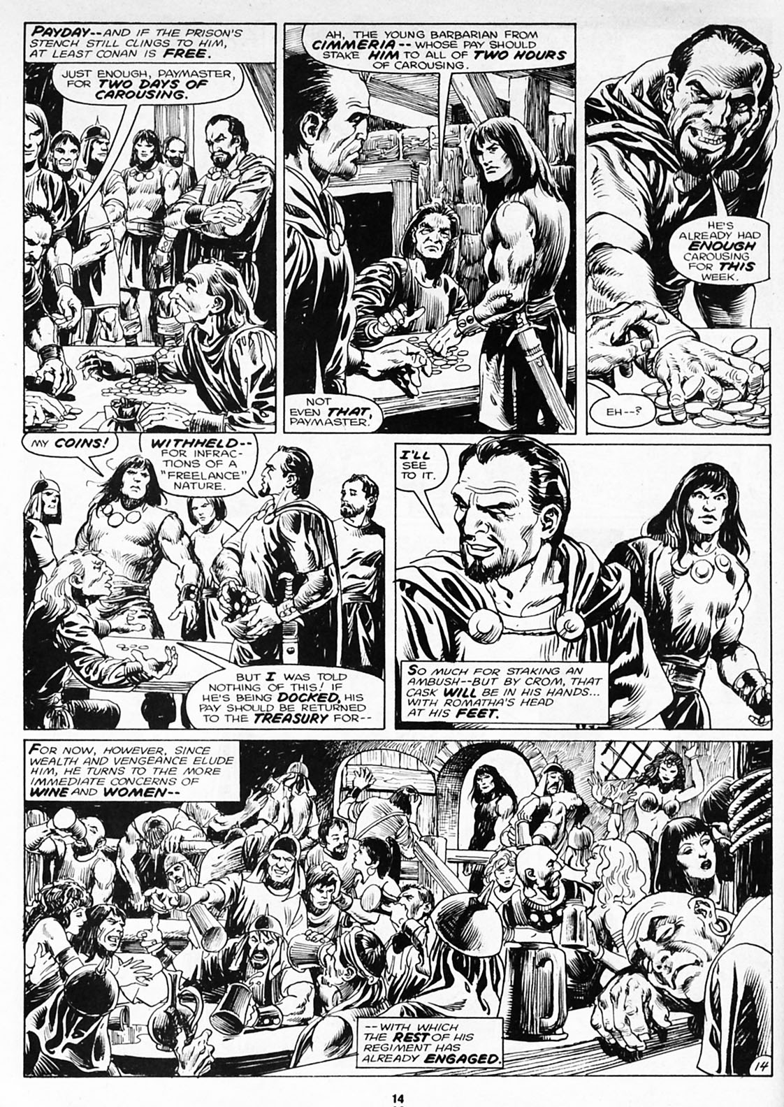 The Savage Sword Of Conan Issue #180 #181 - English 16