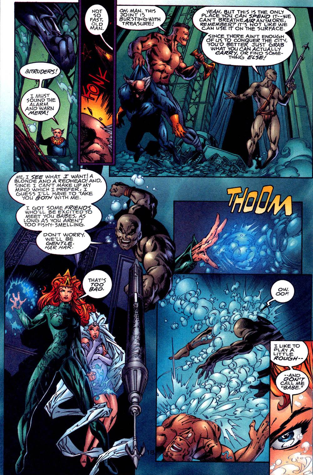 Aquaman (1994) Issue #60 #66 - English 19