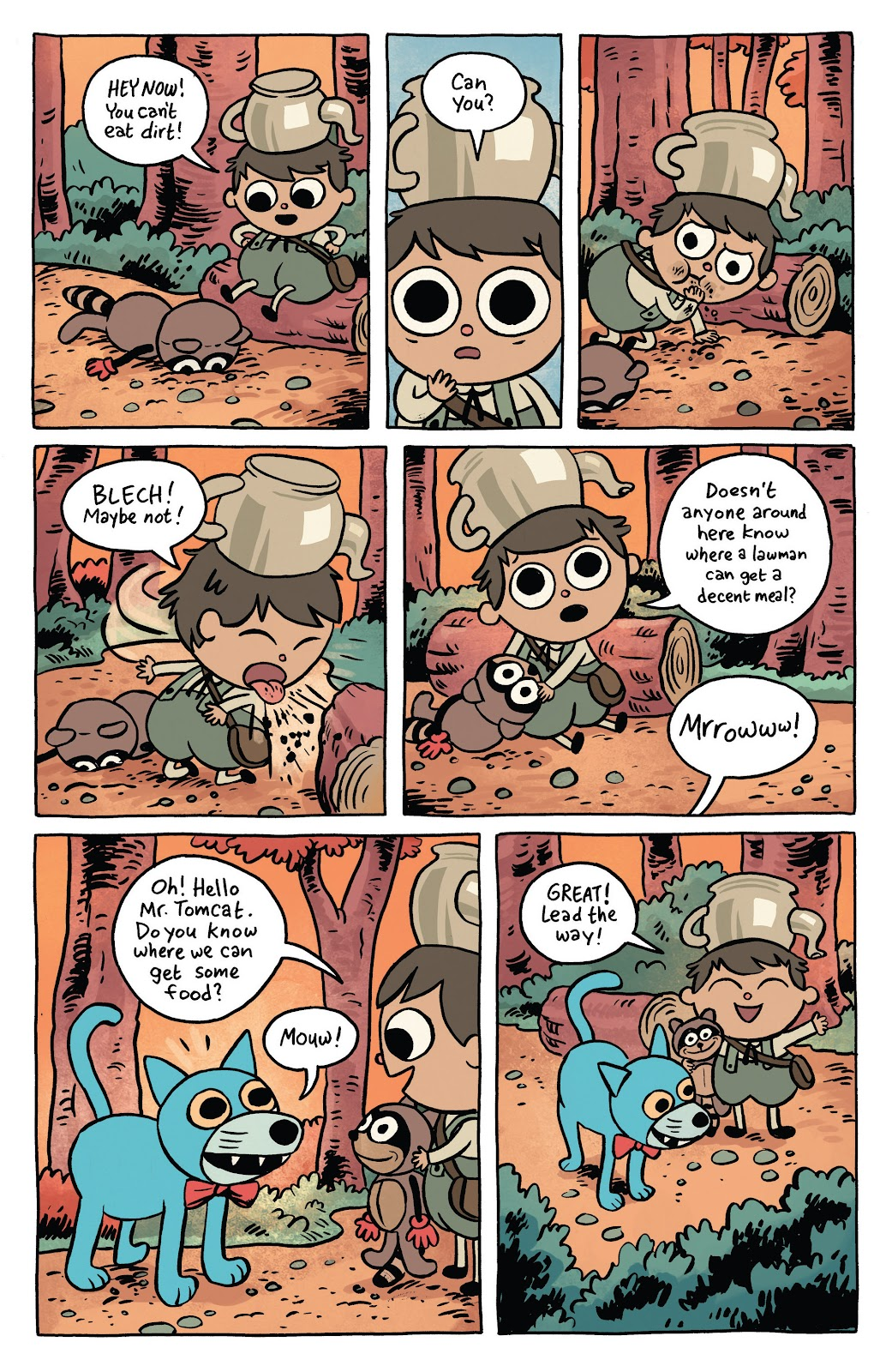 Over the Garden Wall (2016) Issue #1 #1 - English 4