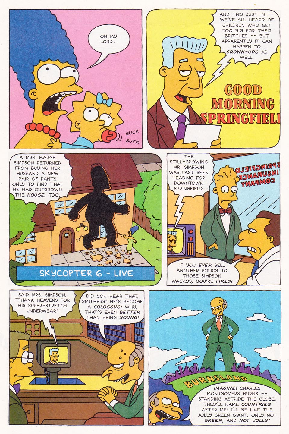 Read online Simpsons Comics comic -  Issue #1 - 11