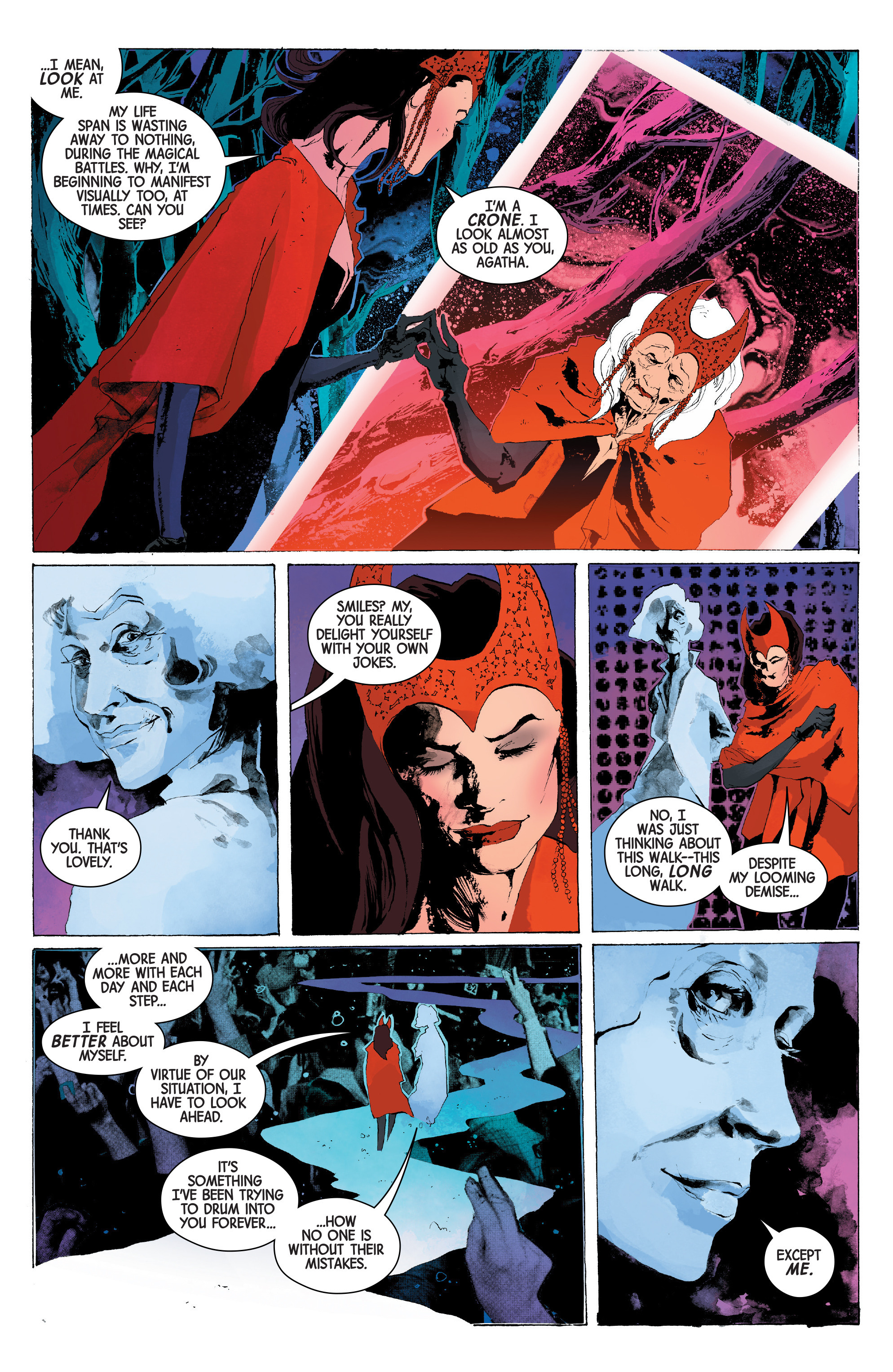 Read online Scarlet Witch (2016) comic -  Issue #13 - 9