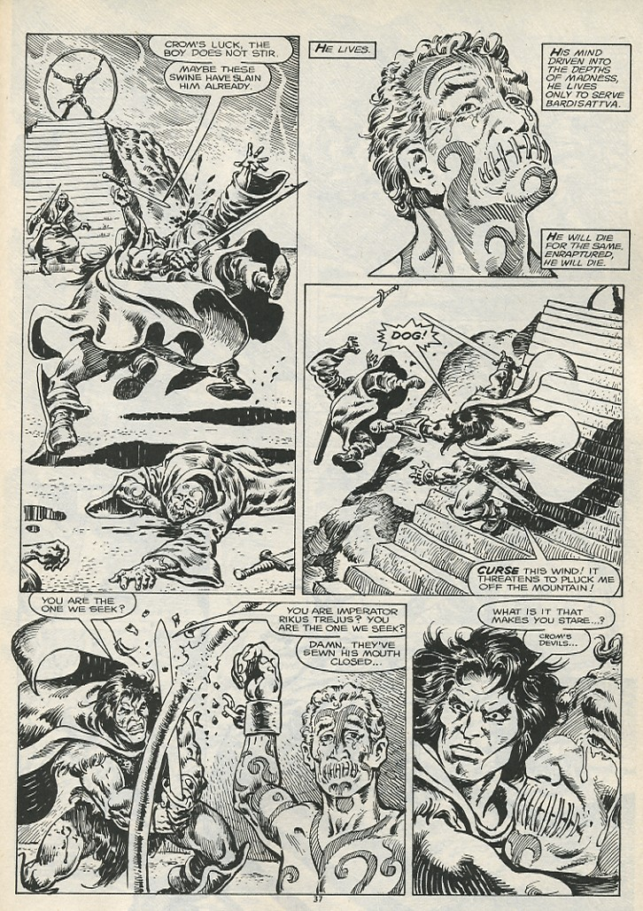The Savage Sword Of Conan Issue #178 #179 - English 39