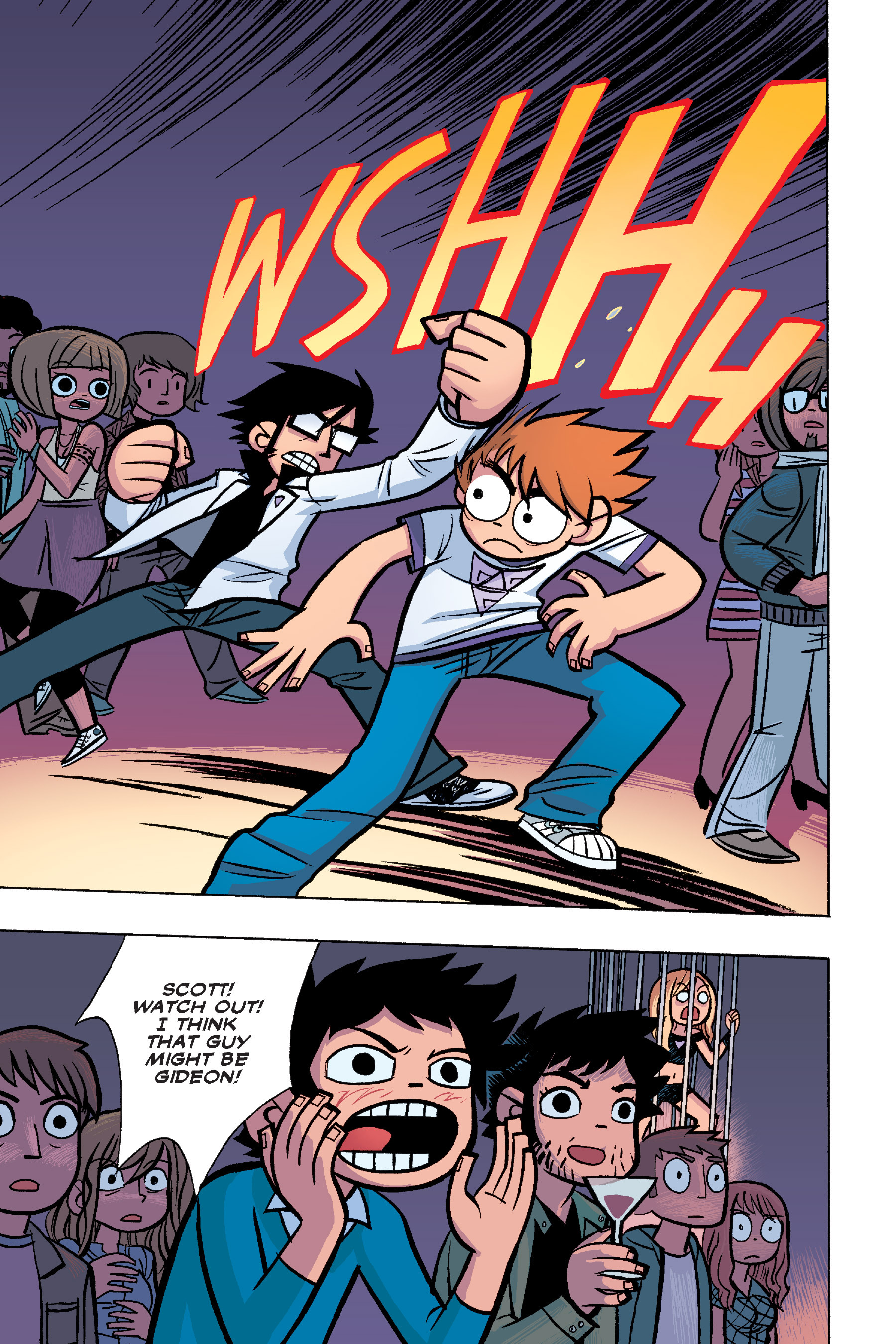 Read online Scott Pilgrim comic -  Issue #6 - 116
