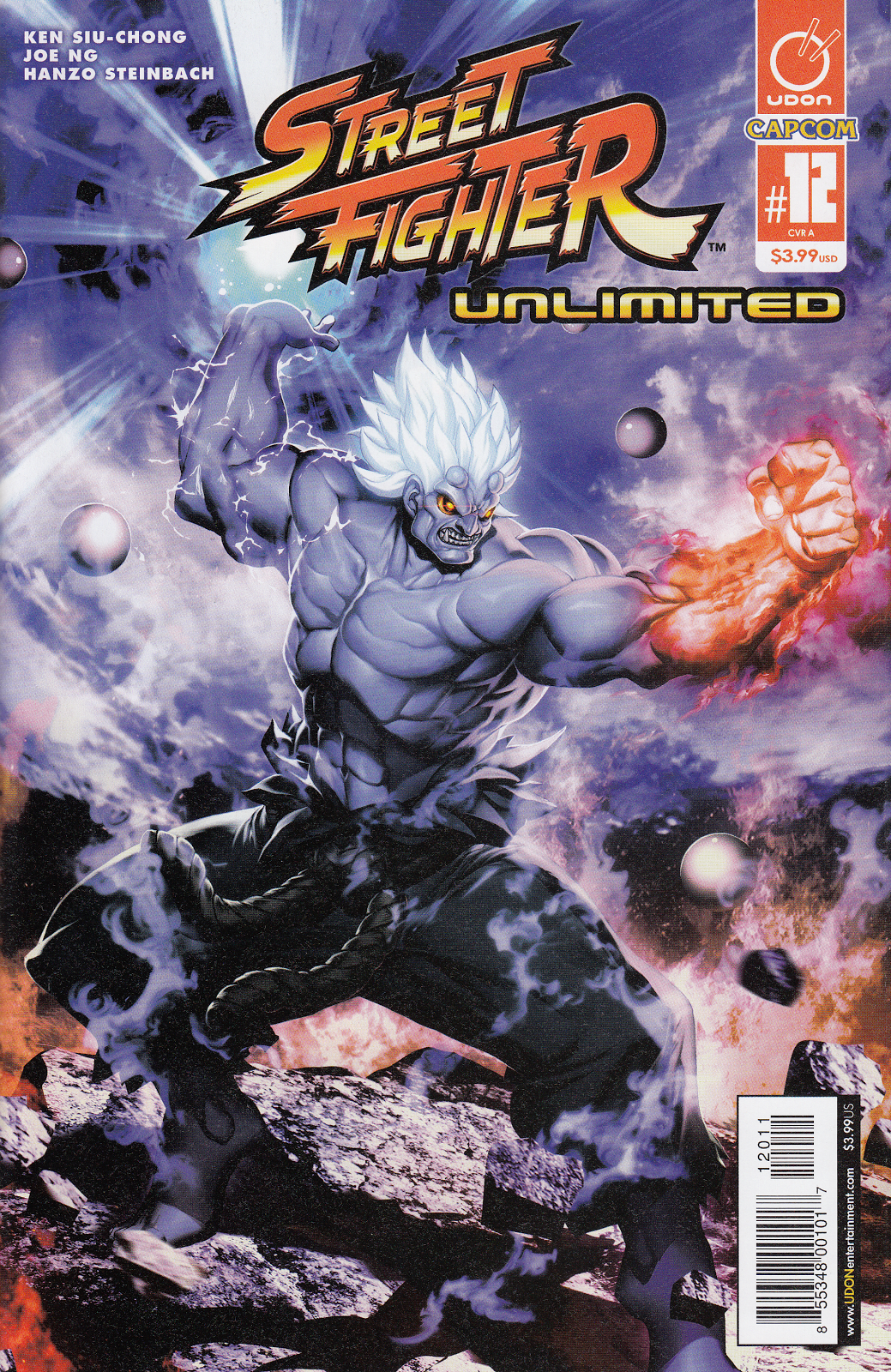 Street Fighter Unlimited Issue #12 #14 - English 1