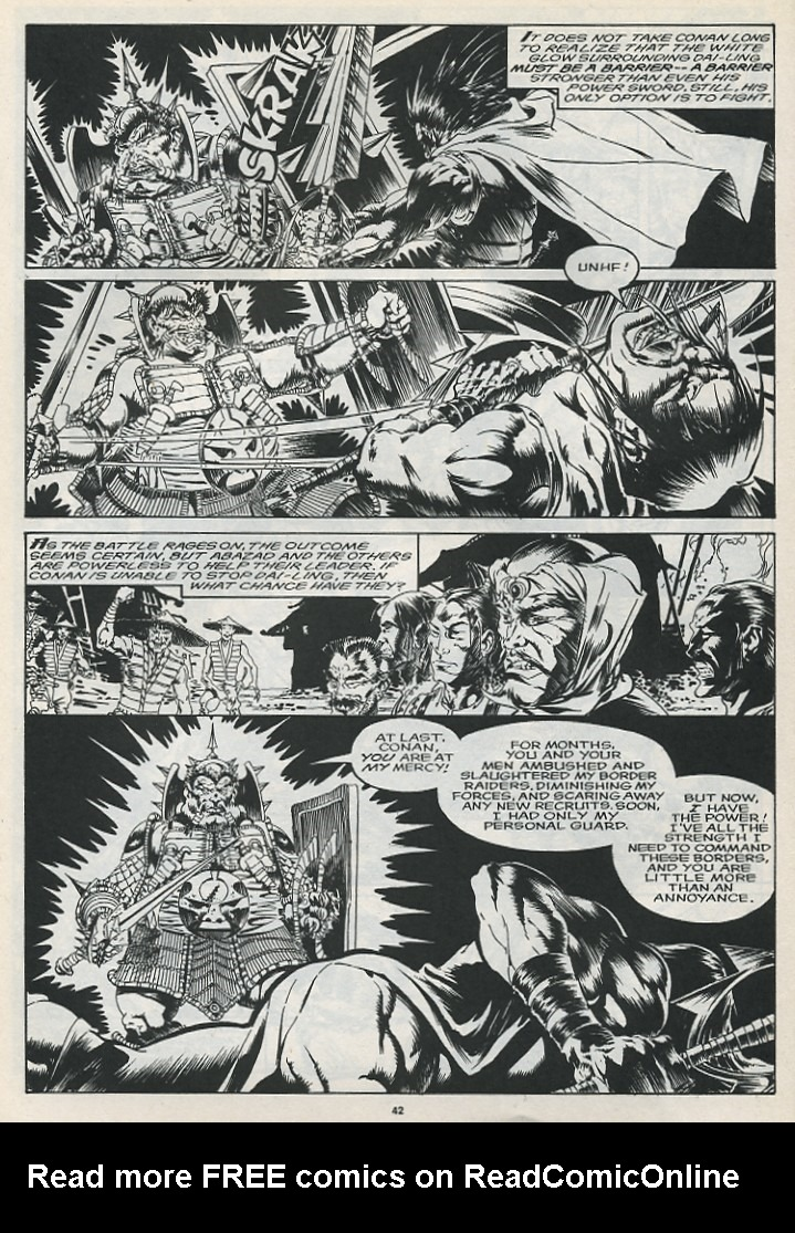The Savage Sword Of Conan Issue #175 #176 - English 44