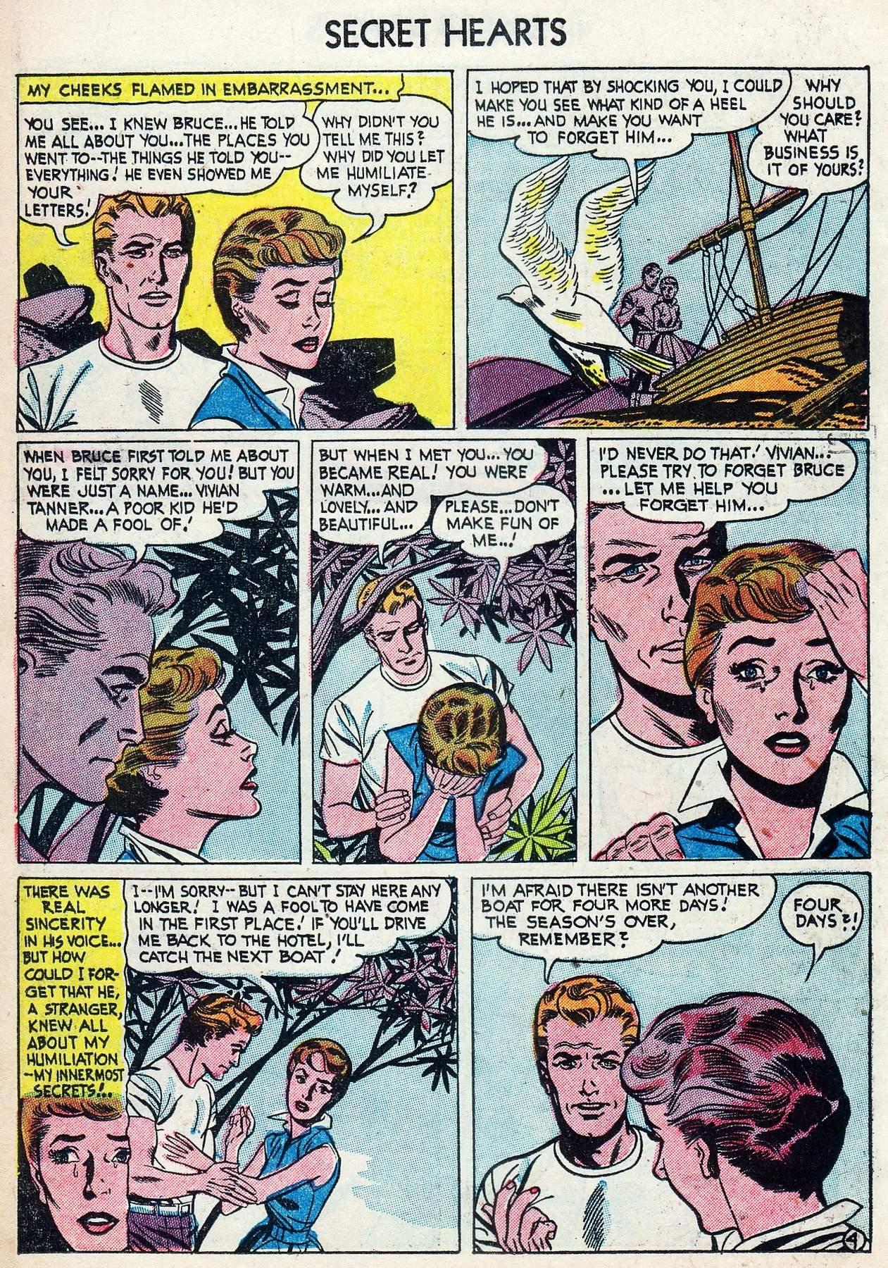 Read online Secret Hearts comic -  Issue #25 - 14