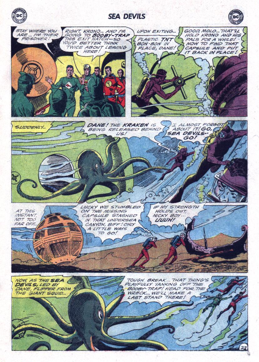 Read online Sea Devils comic -  Issue #23 - 29