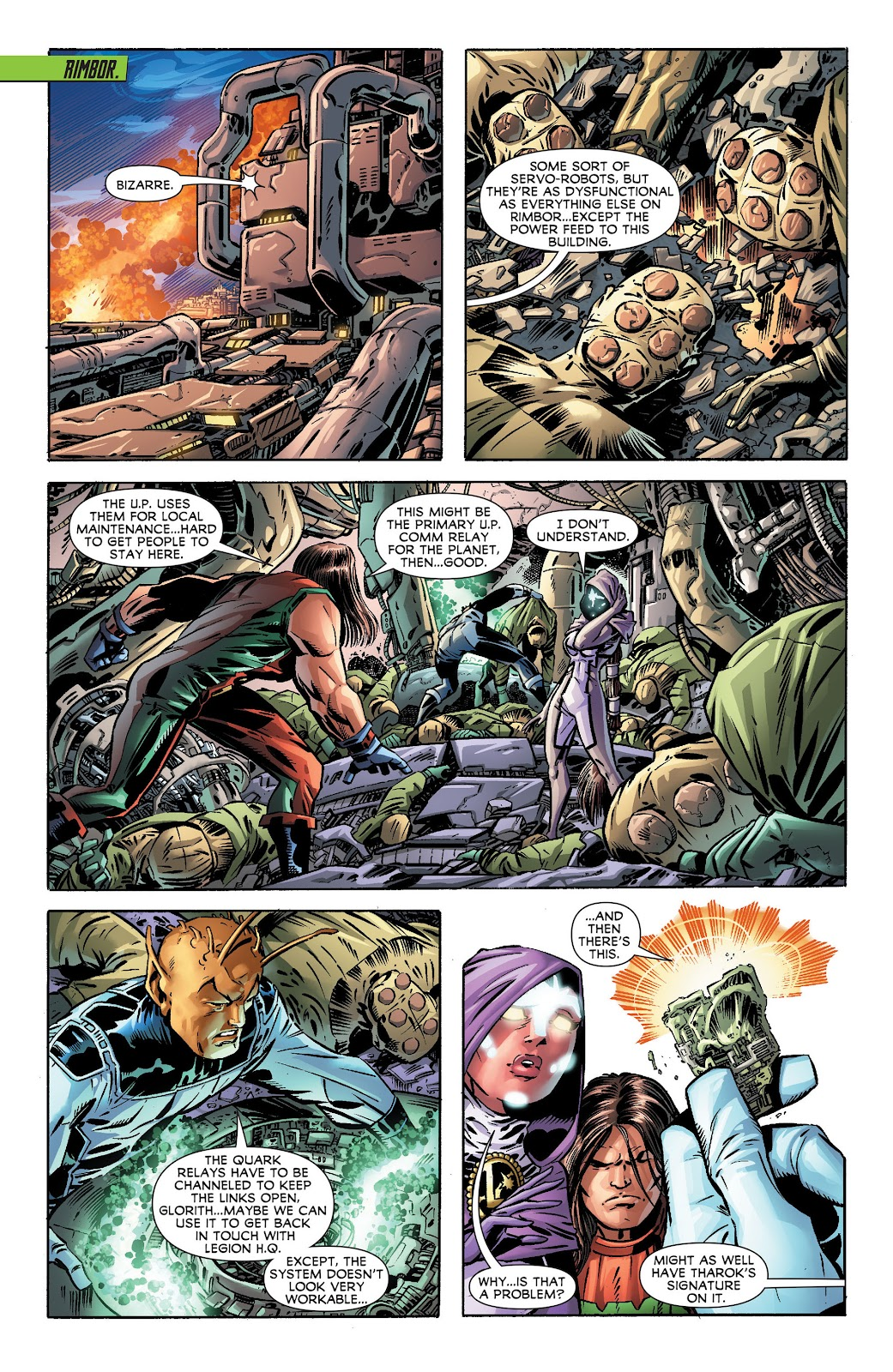 Legion of Super-Heroes (2011) Issue #17 #18 - English 12