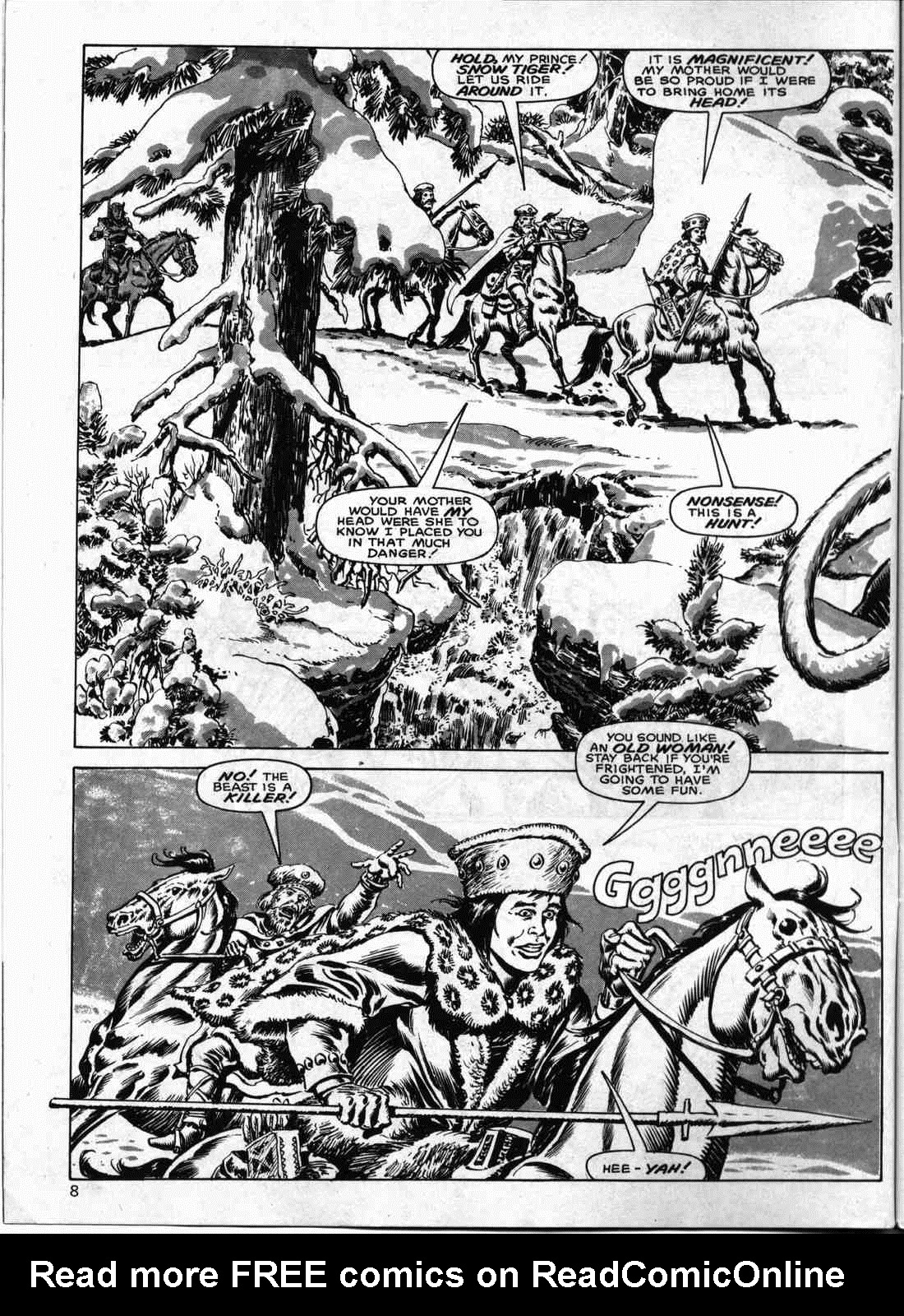 The Savage Sword Of Conan Issue #133 #134 - English 7