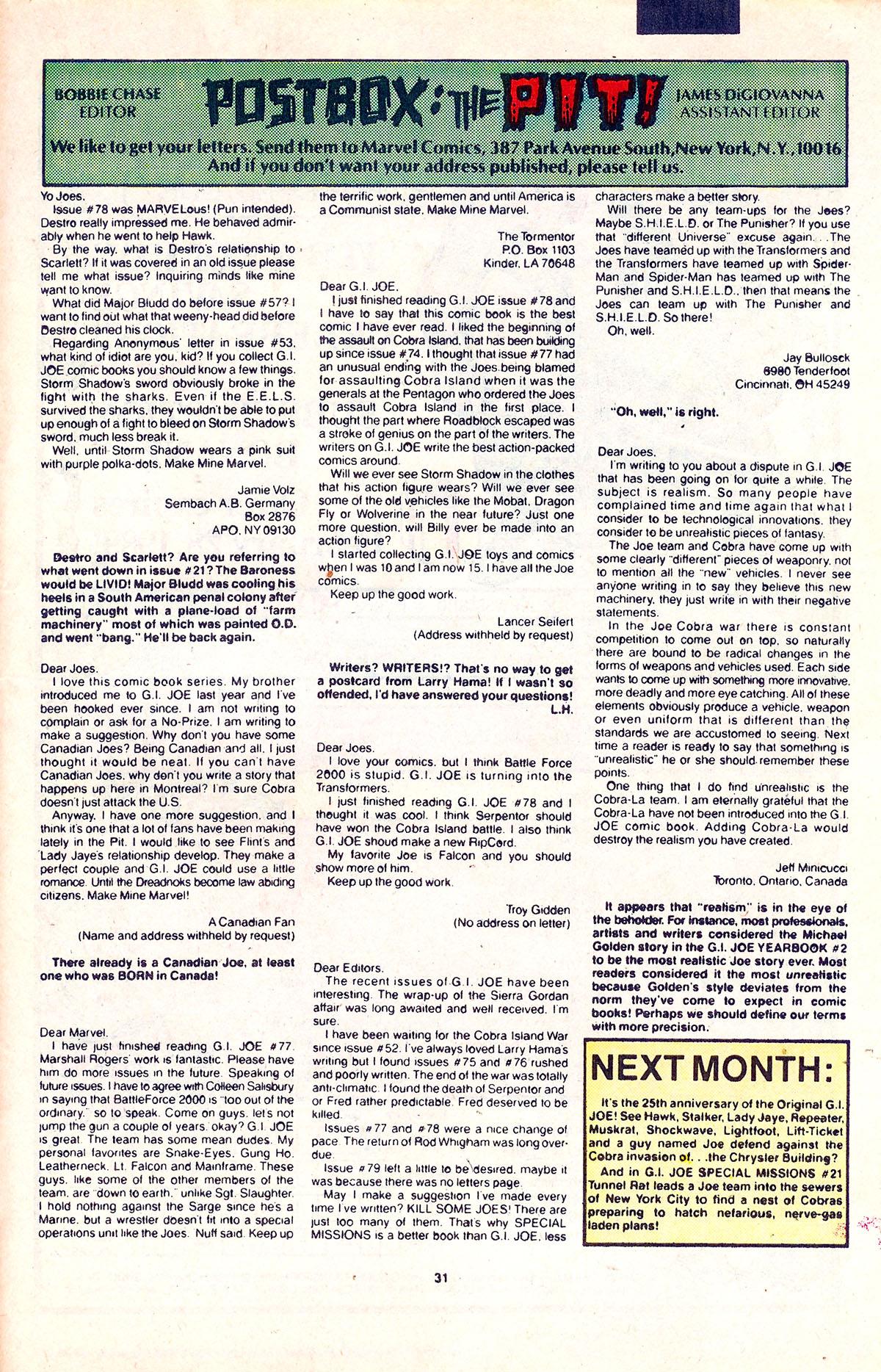 G.I. Joe: A Real American Hero 85 Page 23