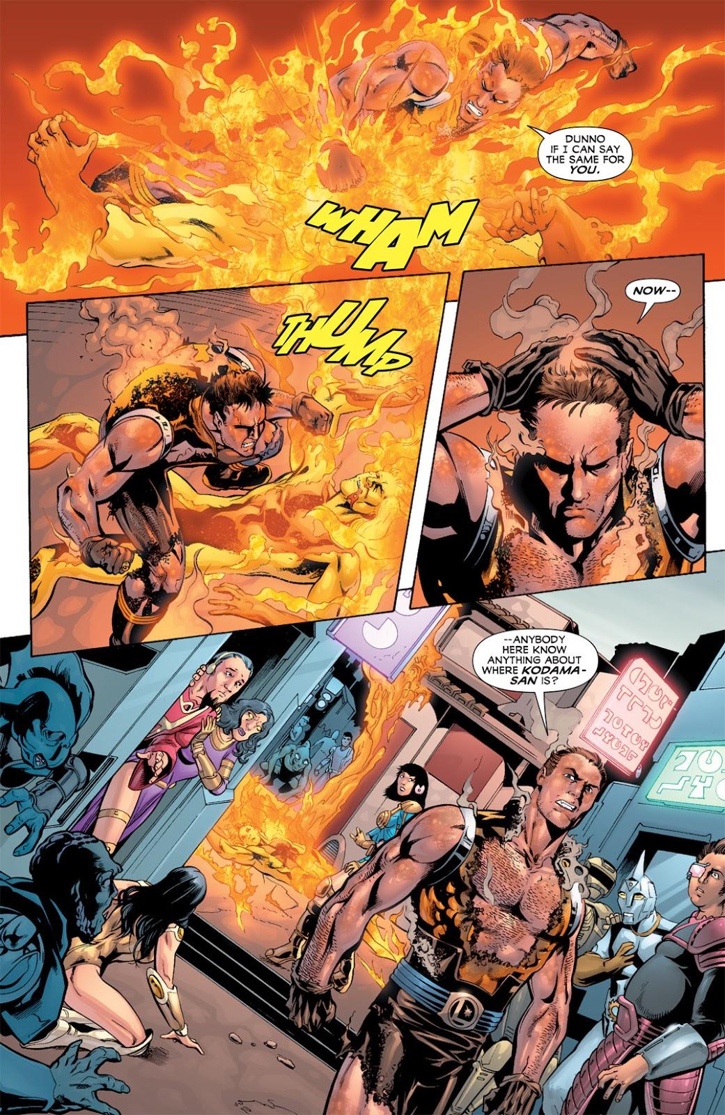 Legion of Super-Heroes (2010) Issue #11 #12 - English 19