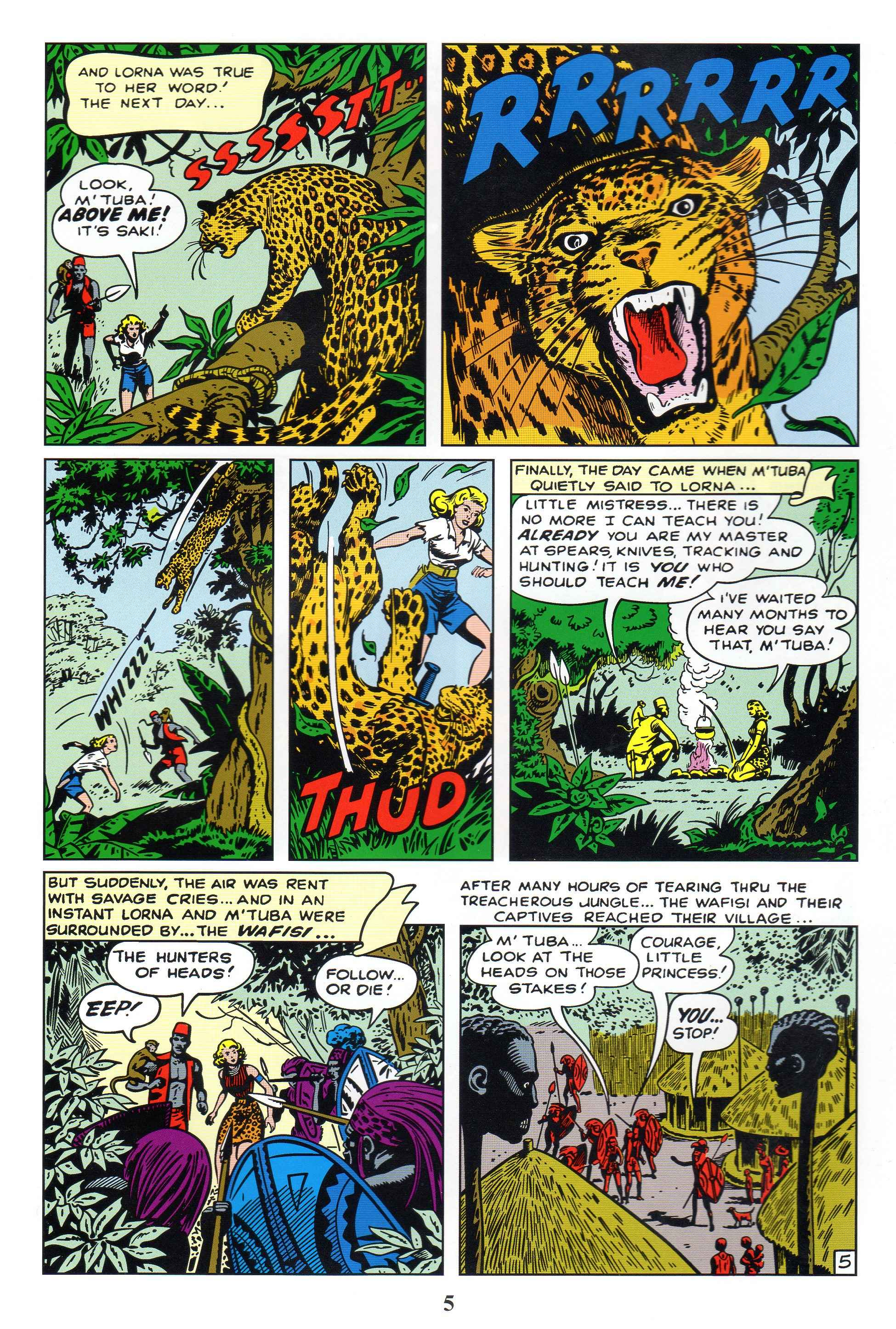 Read online Lorna, The Jungle Queen comic -  Issue #1 - 7