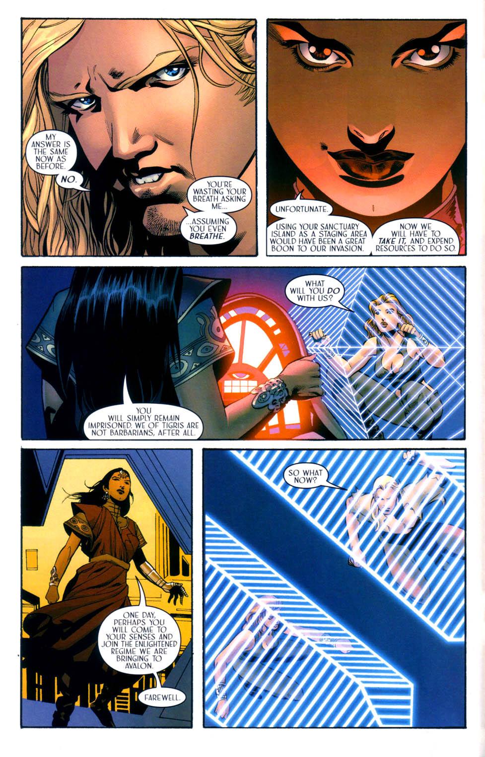 Read online Scion comic -  Issue #33 - 10