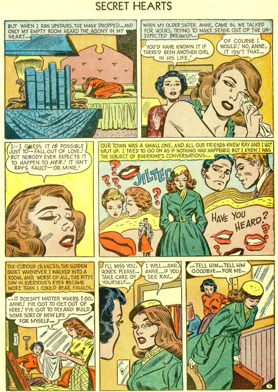 Read online Secret Hearts comic -  Issue #21 - 19
