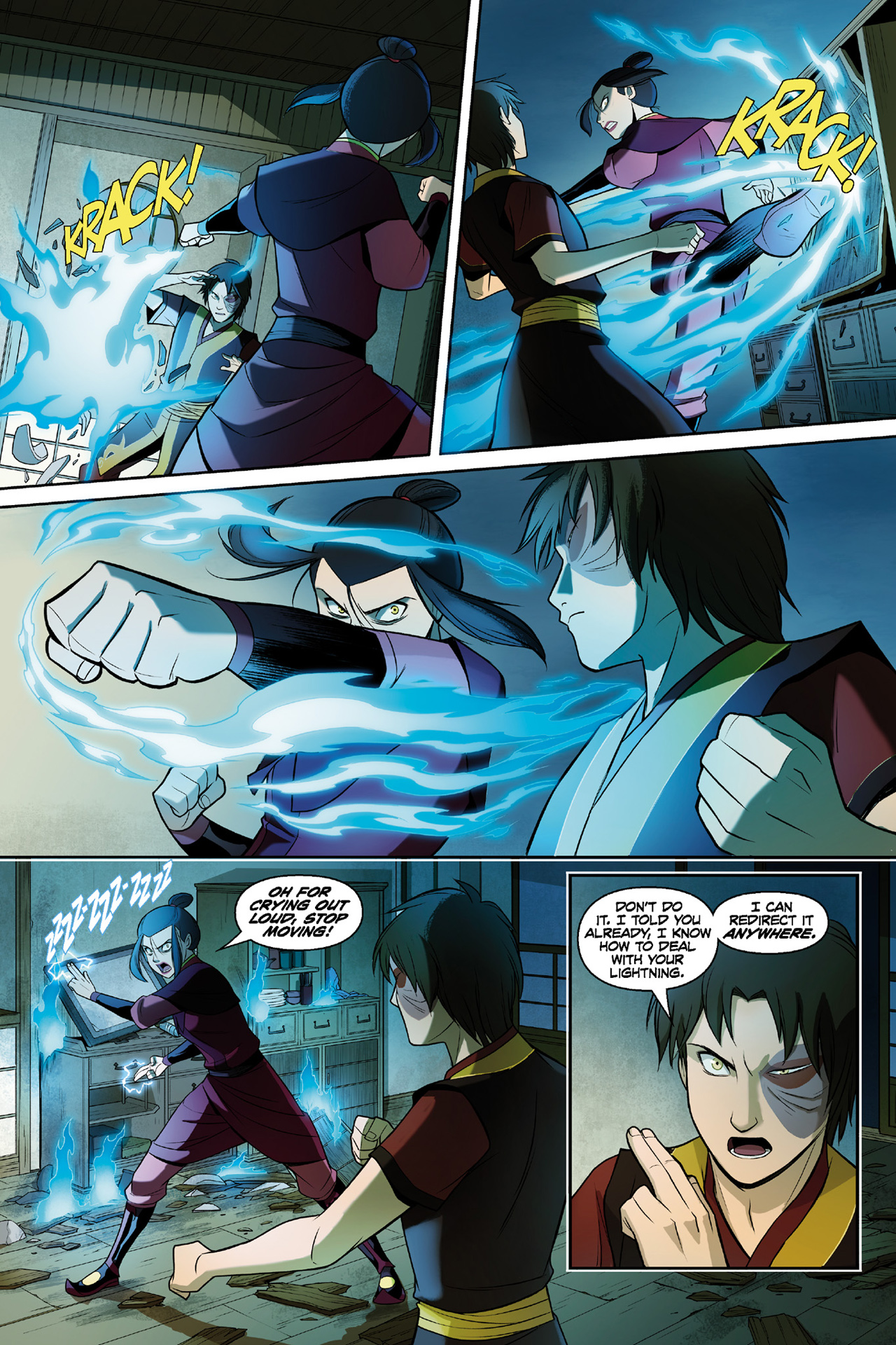 Read online Nickelodeon Avatar: The Last Airbender - The Search comic -  Issue # Part 3 - 62