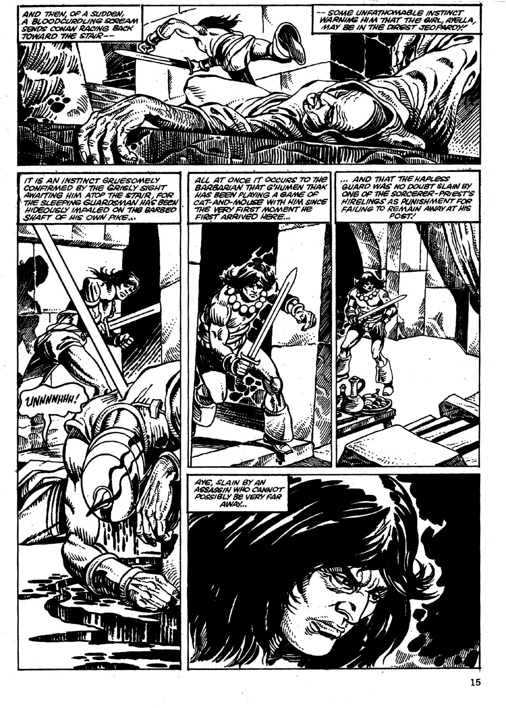 The Savage Sword Of Conan Issue #86 #87 - English 15