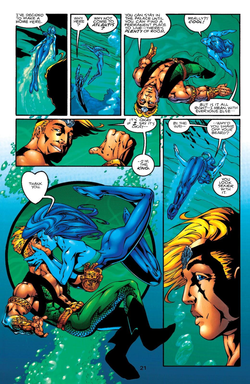 Aquaman (1994) Issue #55 #61 - English 22