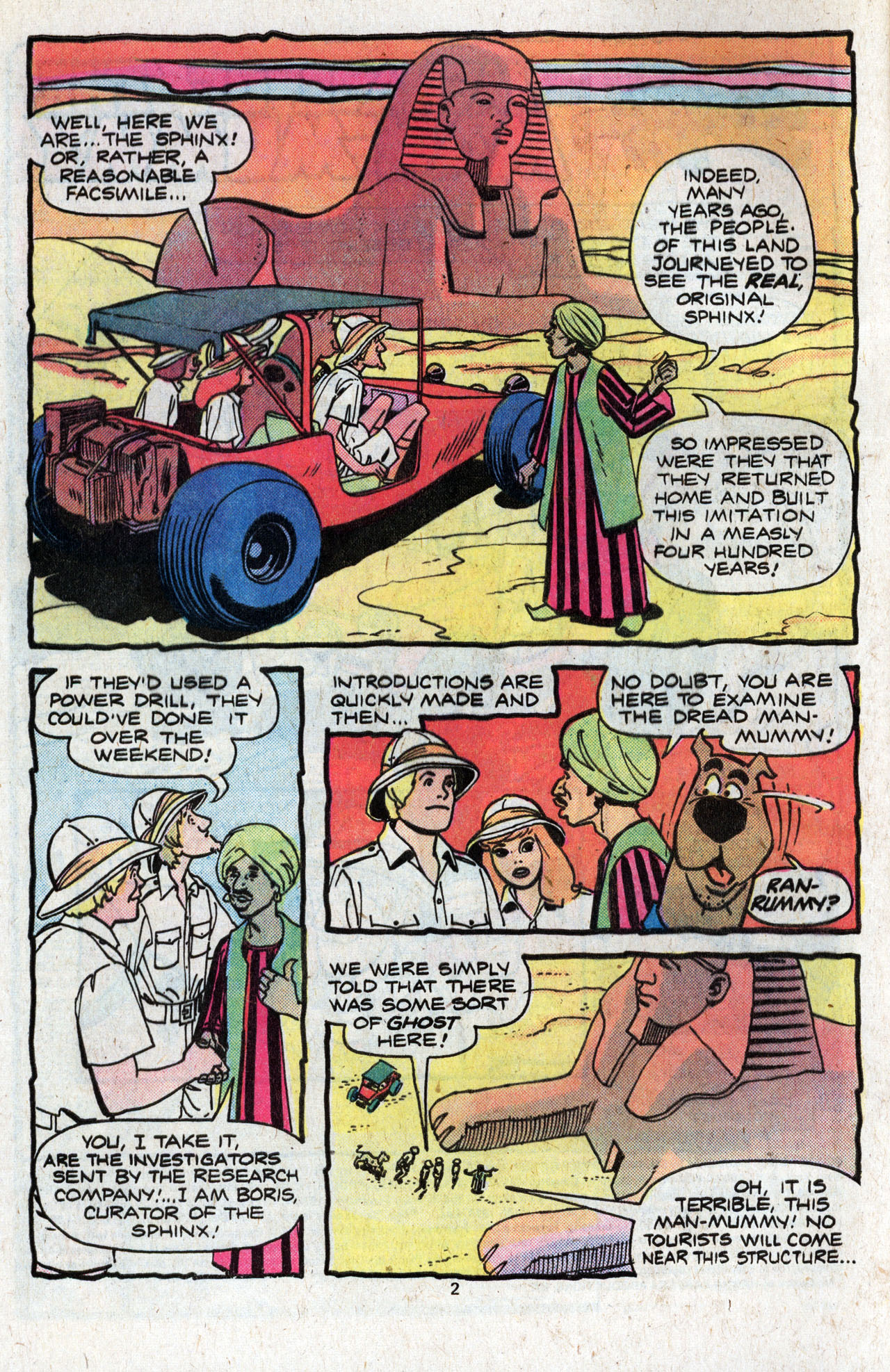 Read online Scooby-Doo (1977) comic -  Issue #4 - 4