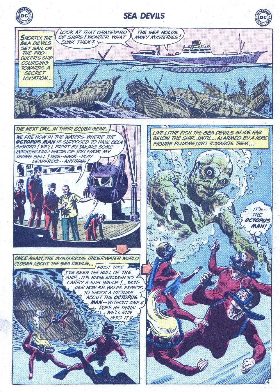 Read online Sea Devils comic -  Issue #1 - 7