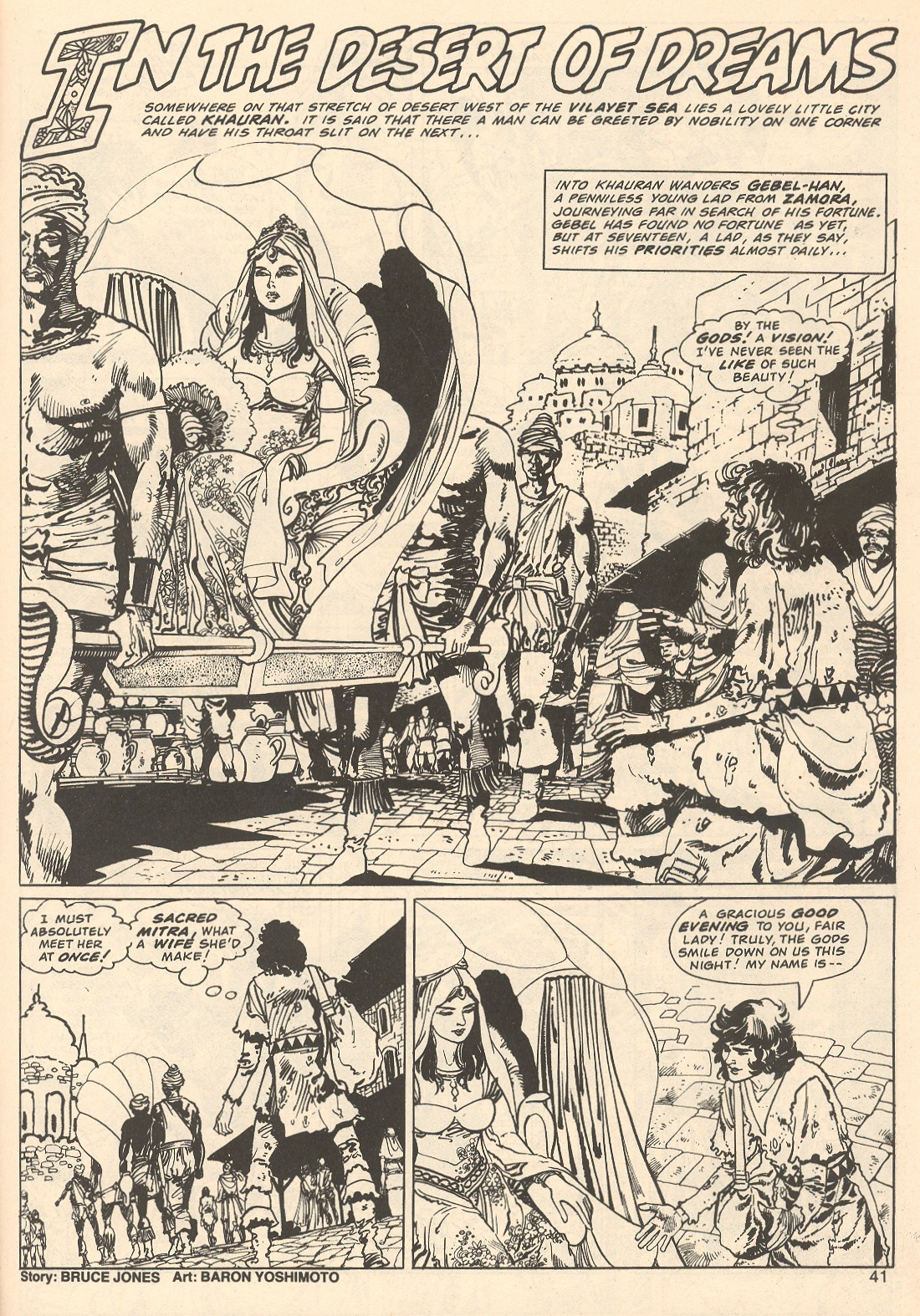 The Savage Sword Of Conan Issue #67 #68 - English 41