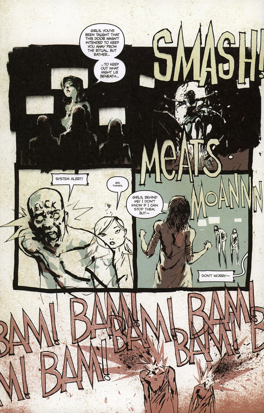 Zombies vs. Robots vs. Amazons Issue #1 Page 15