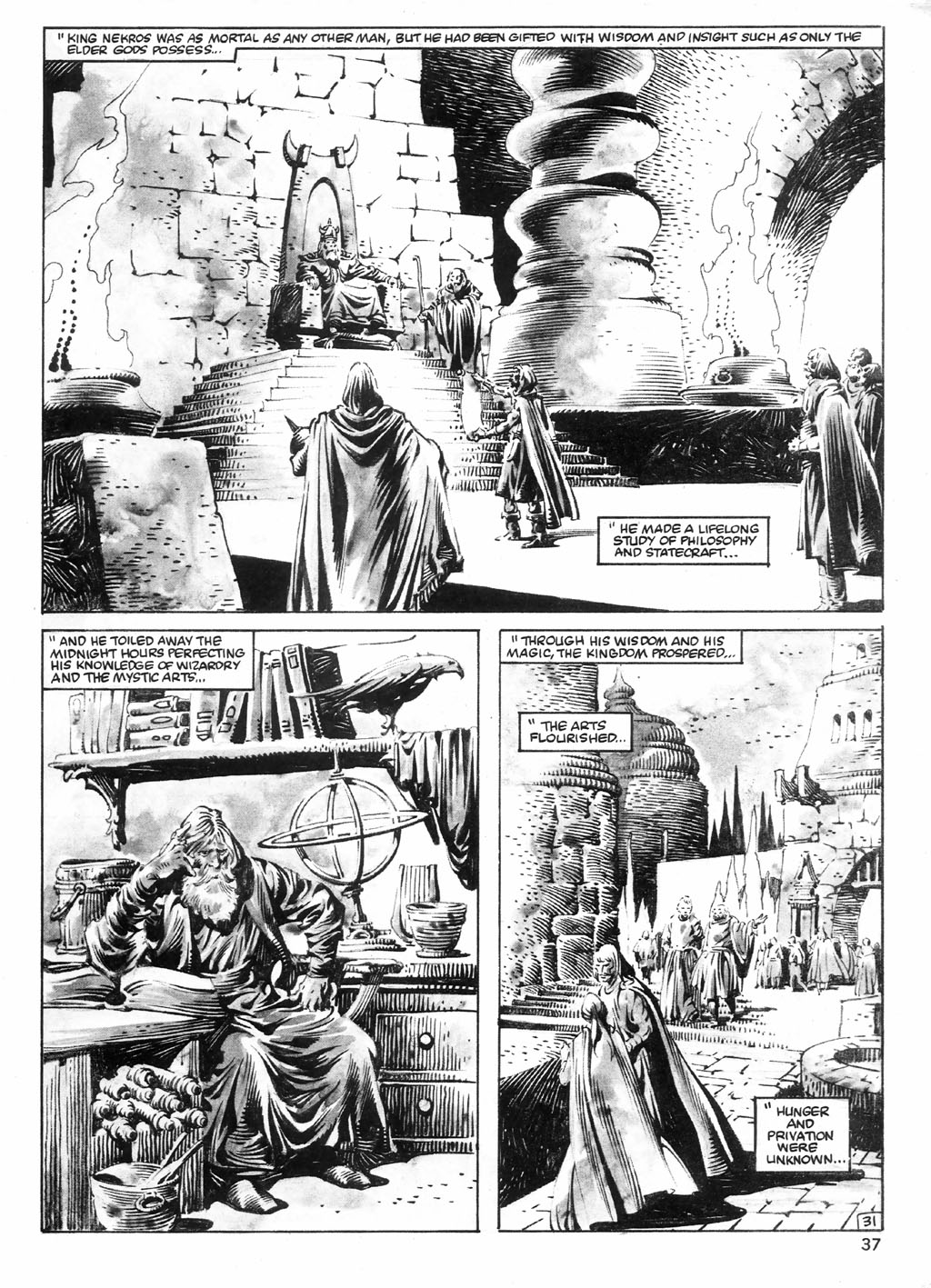 The Savage Sword Of Conan Issue #98 #99 - English 37