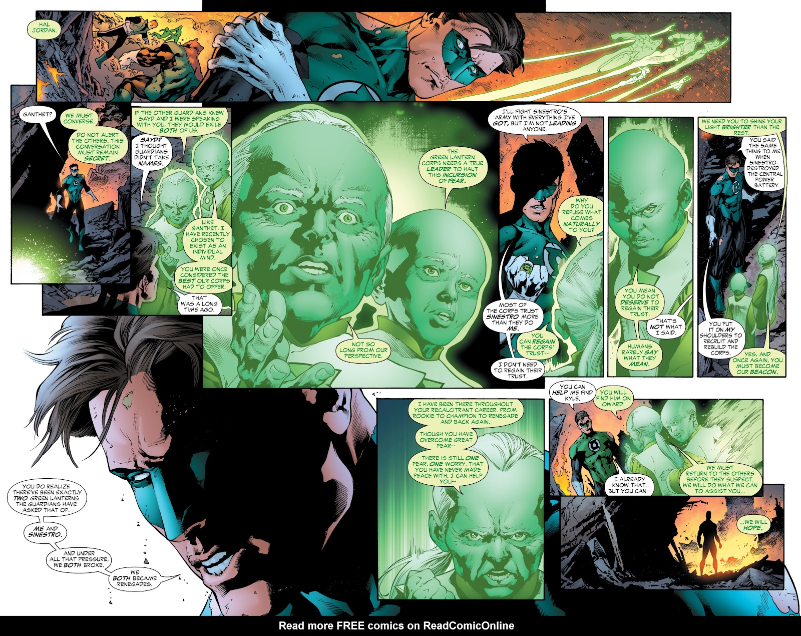 Green Lantern: The Sinestro Corps War Full #1 - English 60