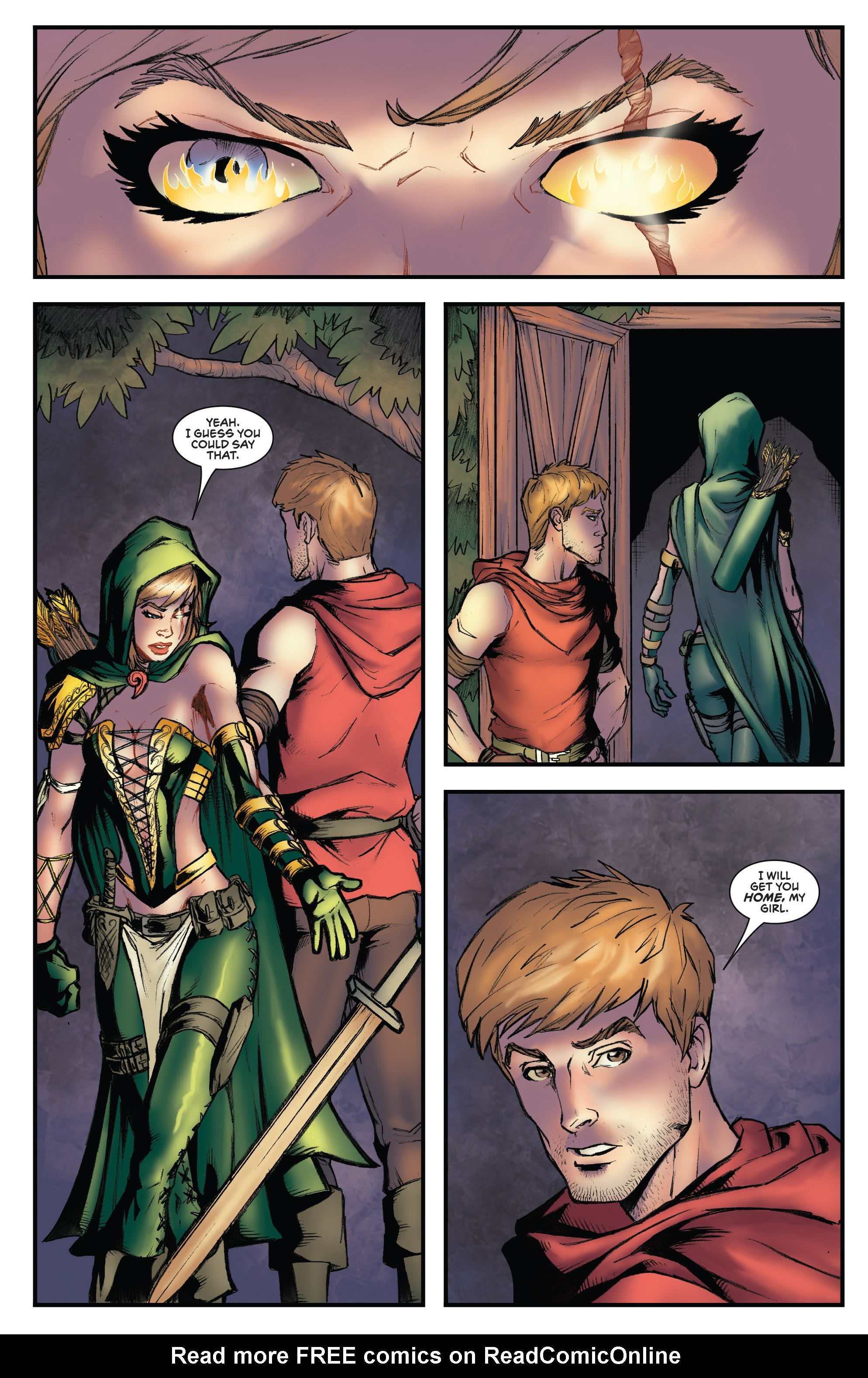 Read online Grimm Fairy Tales presents Robyn Hood (2012) comic -  Issue #3 - 22