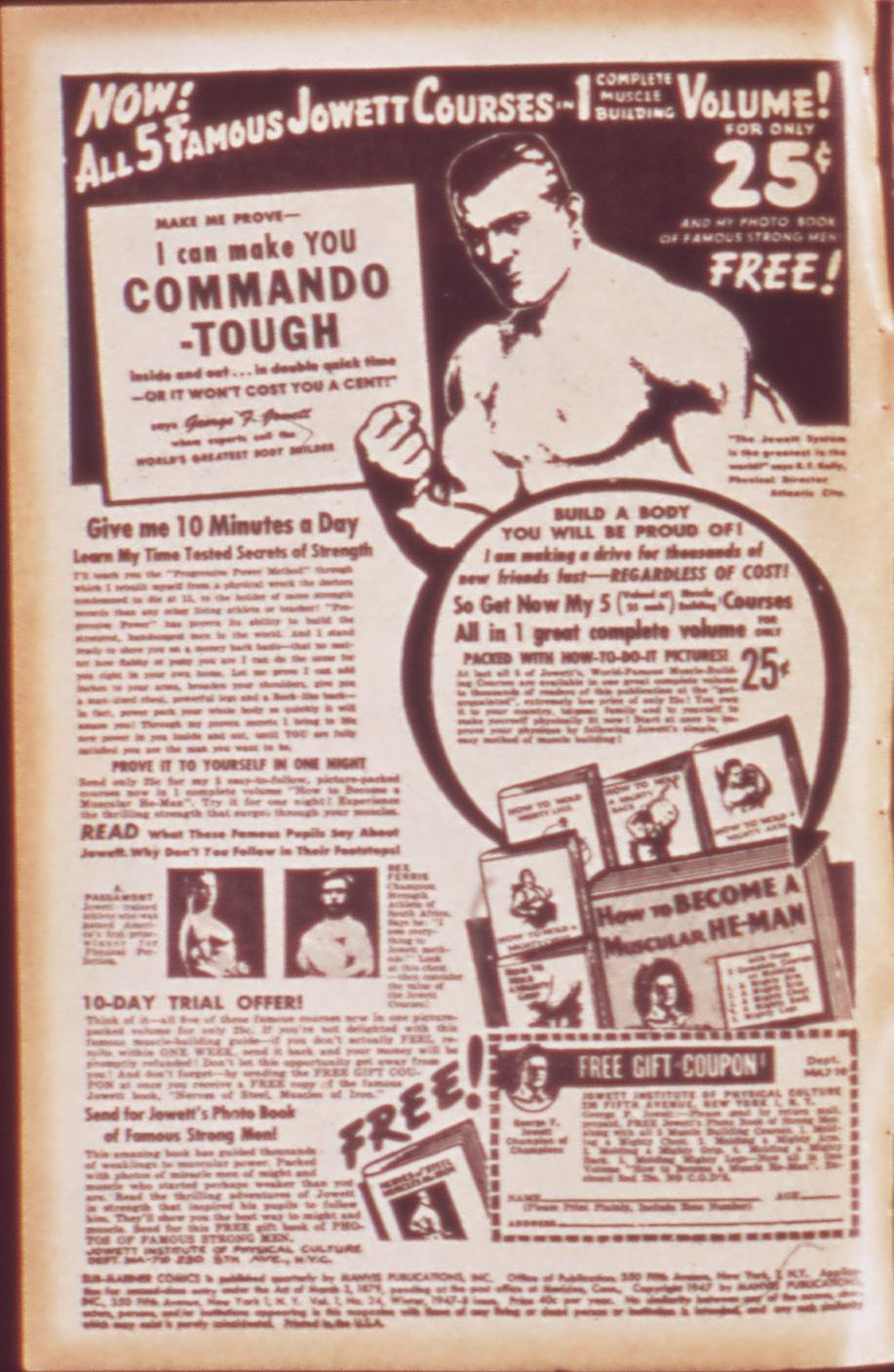 Sub-Mariner Comics #24 #24 - English 2